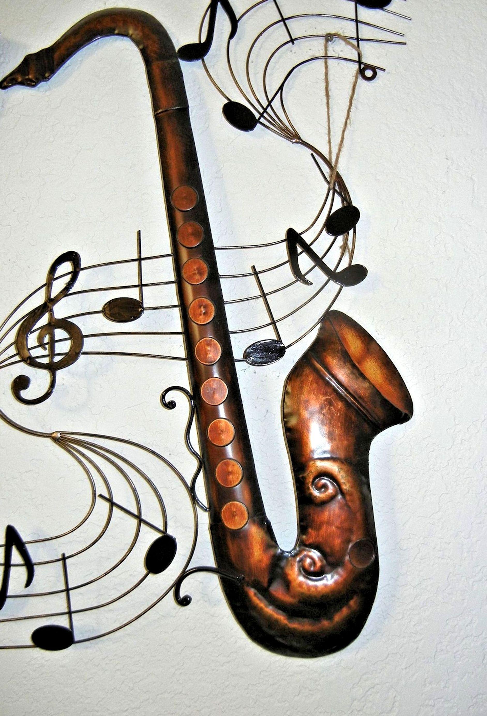 Gambar Gitar Jumlah Alat Musik Fon Saksofon Sketsa