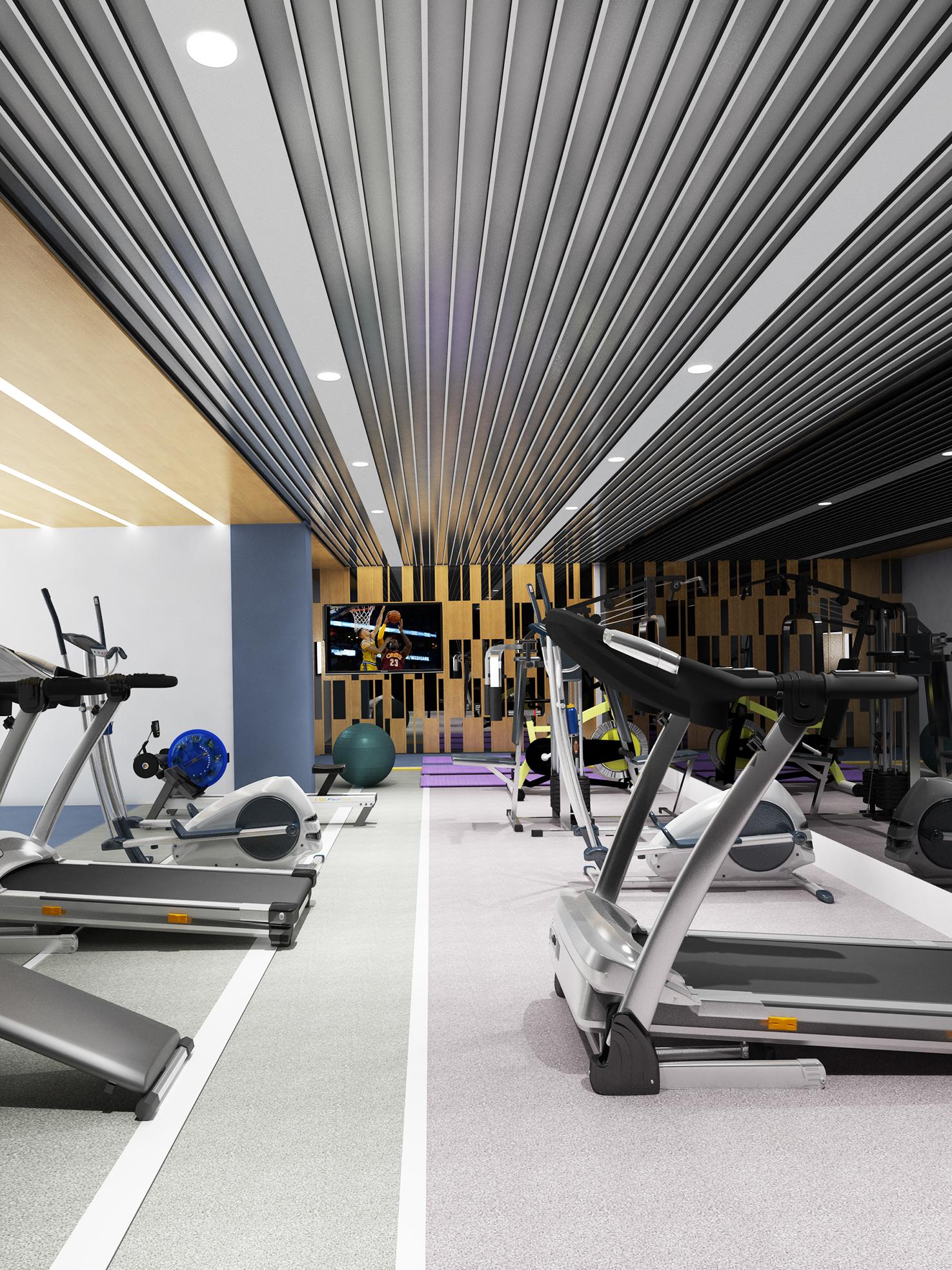 Architecte Interieur 3D Gratuit images gratuites : gym, 3d, design d'intérieur, structure