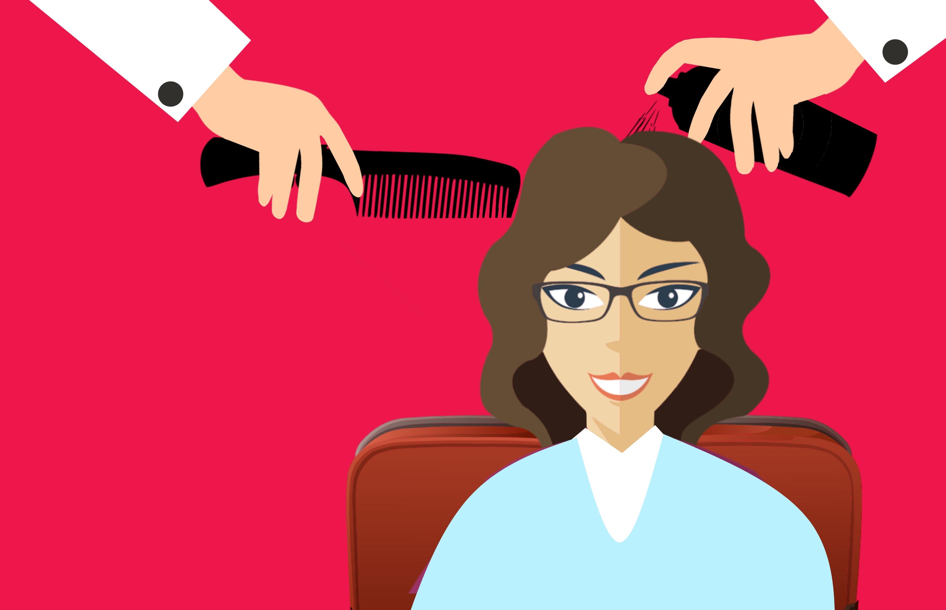 Free Images Hair Beauty Salon Hairdresser Stylist Female Fashion Modern Woman Spray Barber Chair Equipment Care Health Style Beautiful Trim Hairdo Cosmetics Shampoo Service Hairstyle Fashionable Animated Cartoon Illustration