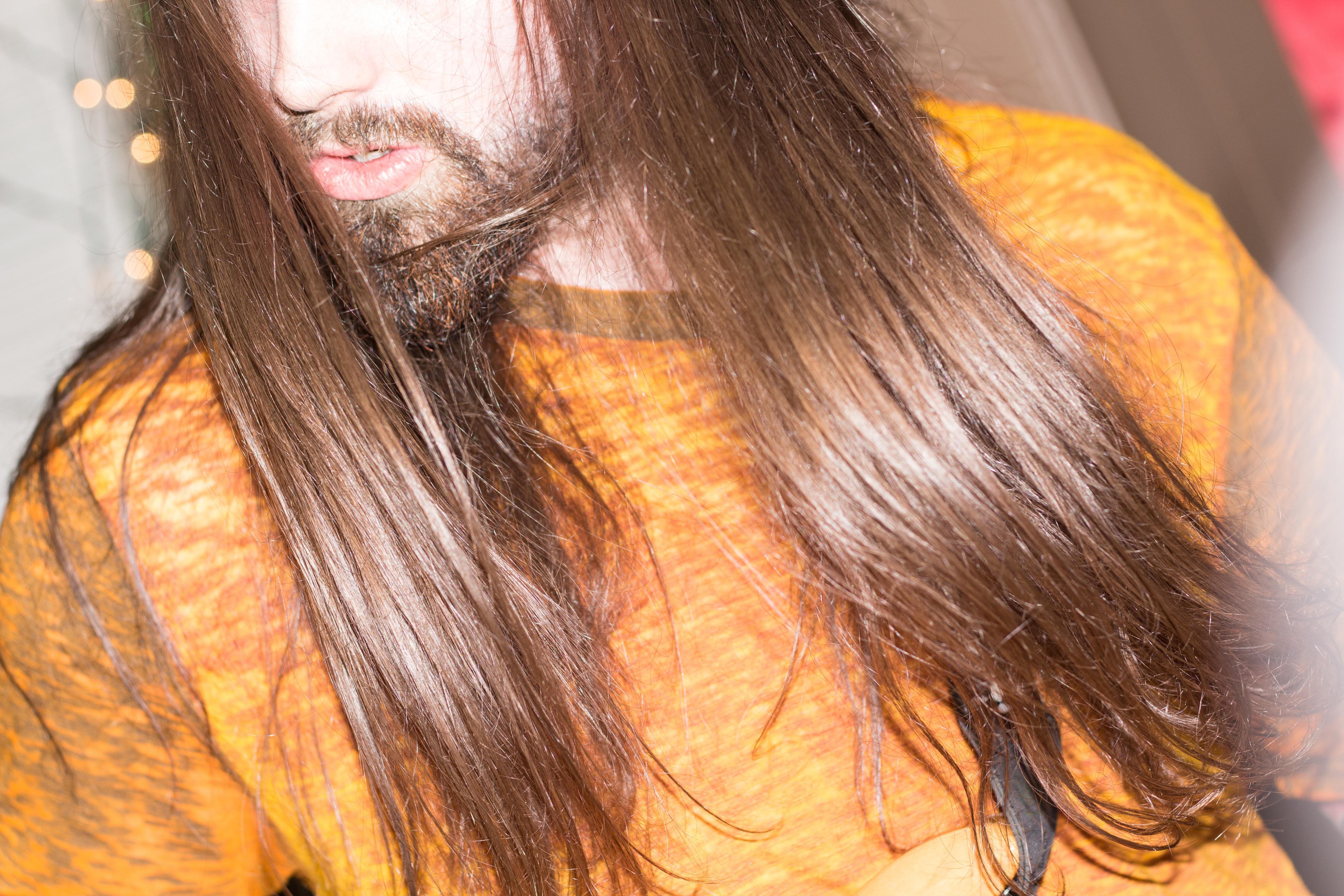 Kostenlose Foto Farbe Ohr Lippe Frisur Lange Haare Nahansicht