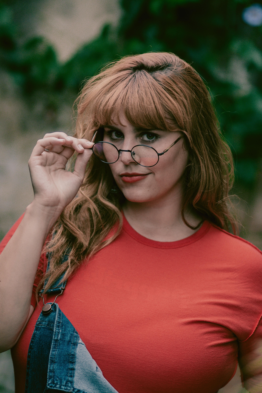 Kostenlose Foto Haar Brille Schonheit Frisur Dame Blond