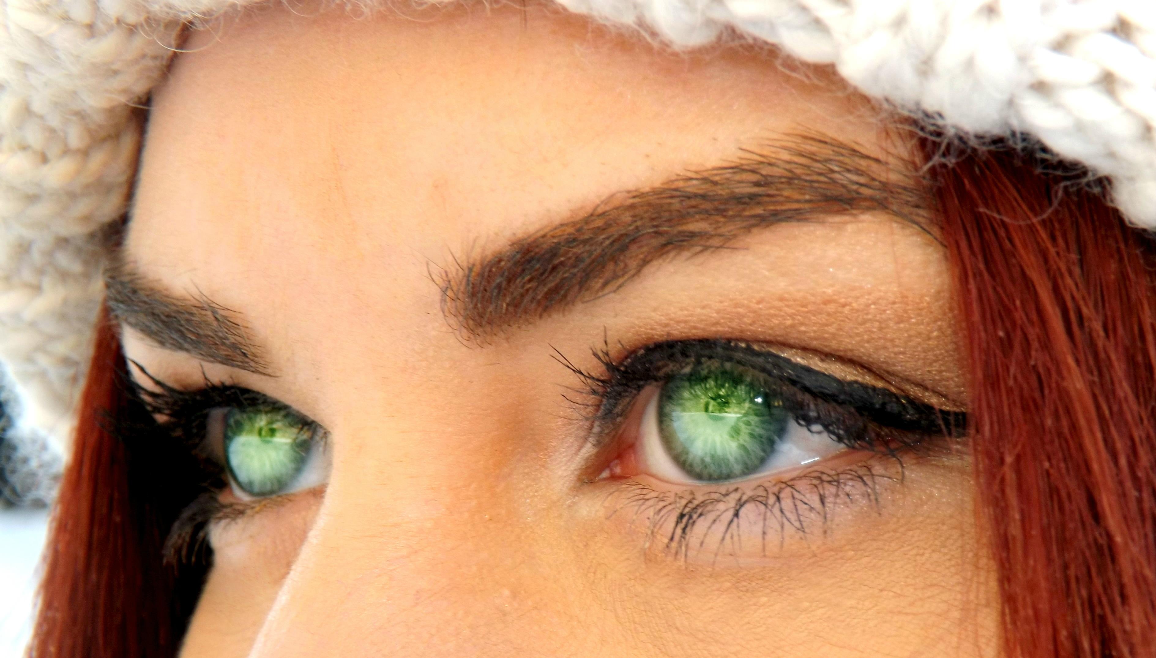 Free Fotobanka Zelena Cervene Barva Ucho Ret Uces Makeup