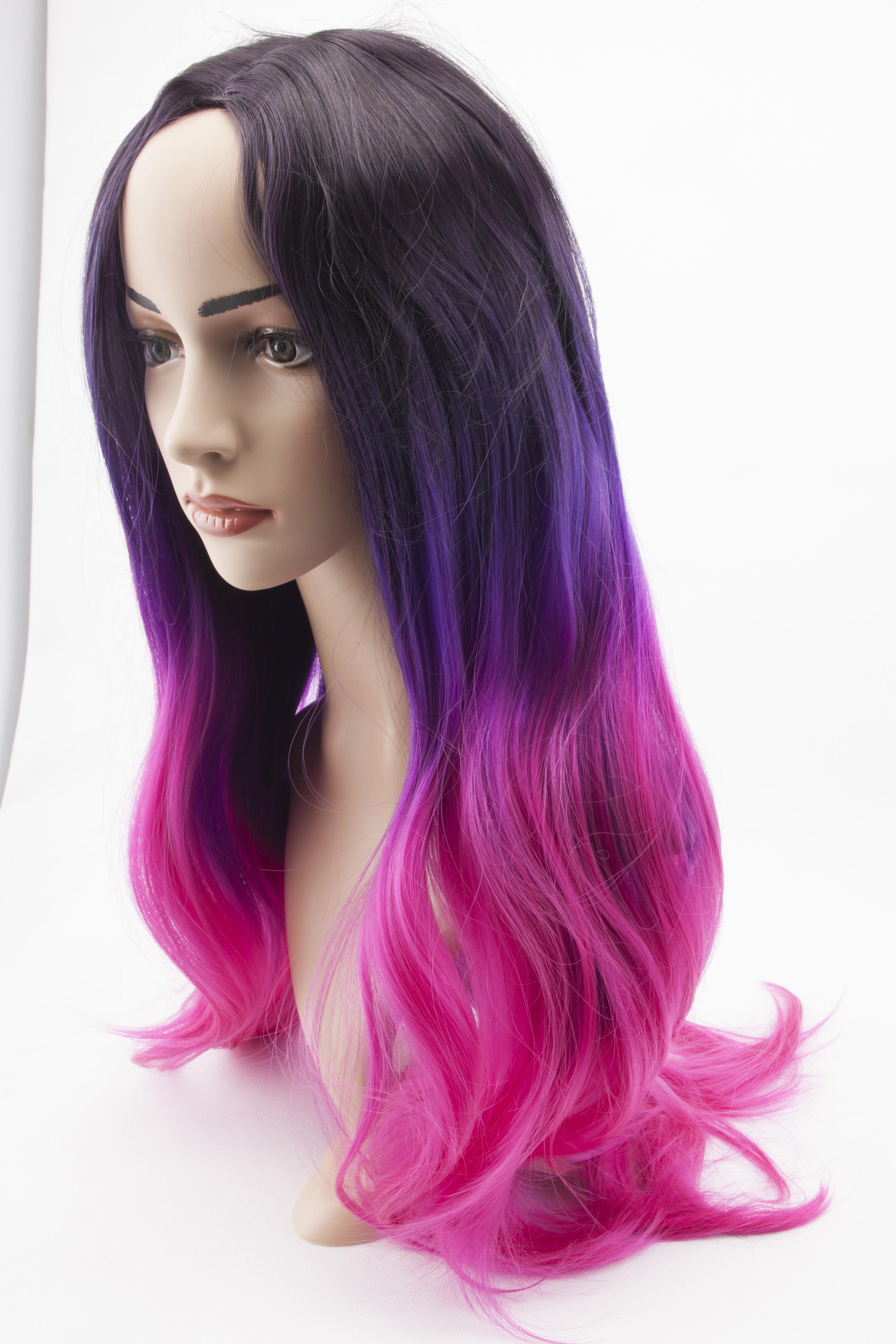 Kostenlose Foto Lila Modell Kleidung Rosa Frisur Lange Haare