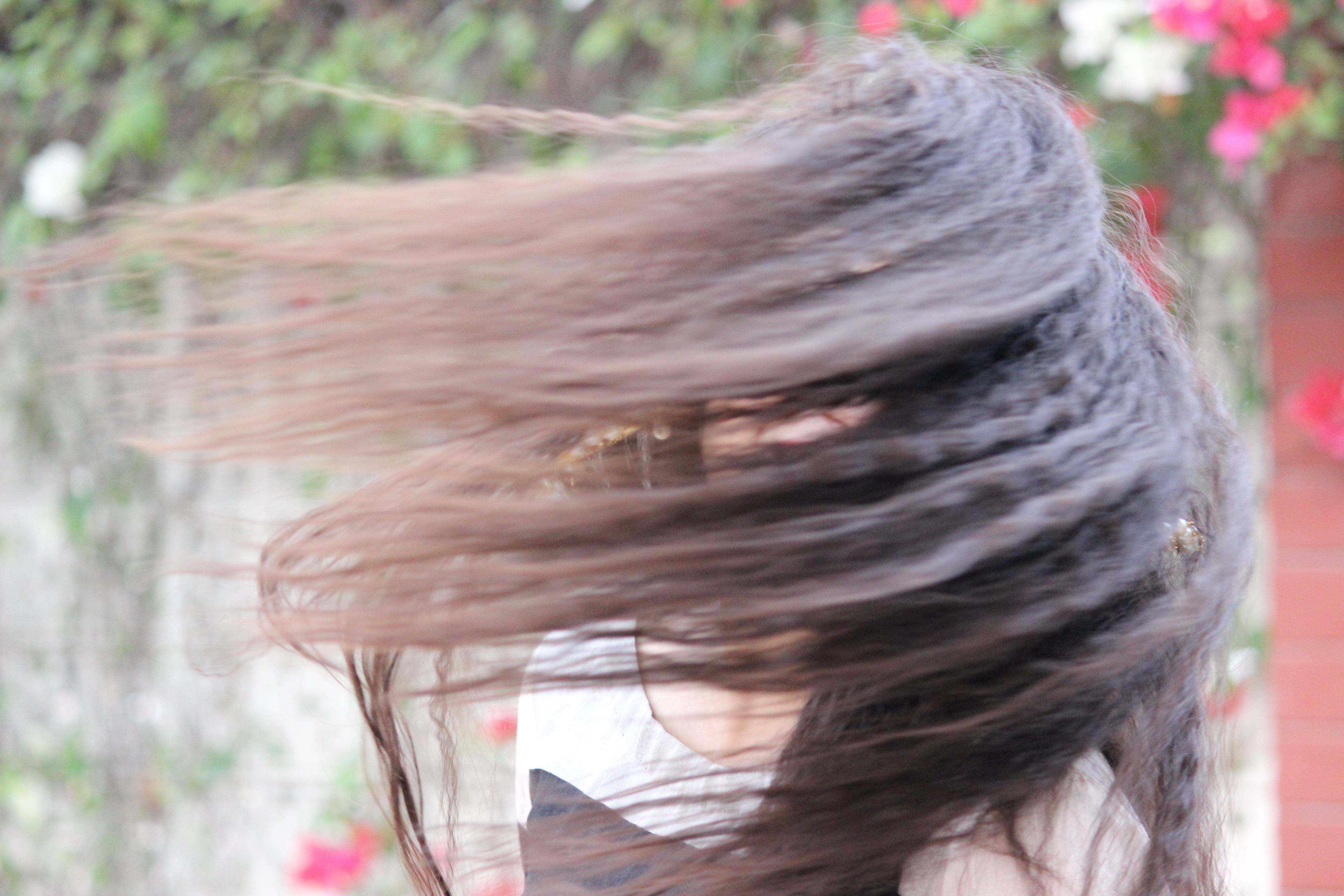 Kostenlose Foto Haar Fruhling Rot Farbe Frisur Lange Haare