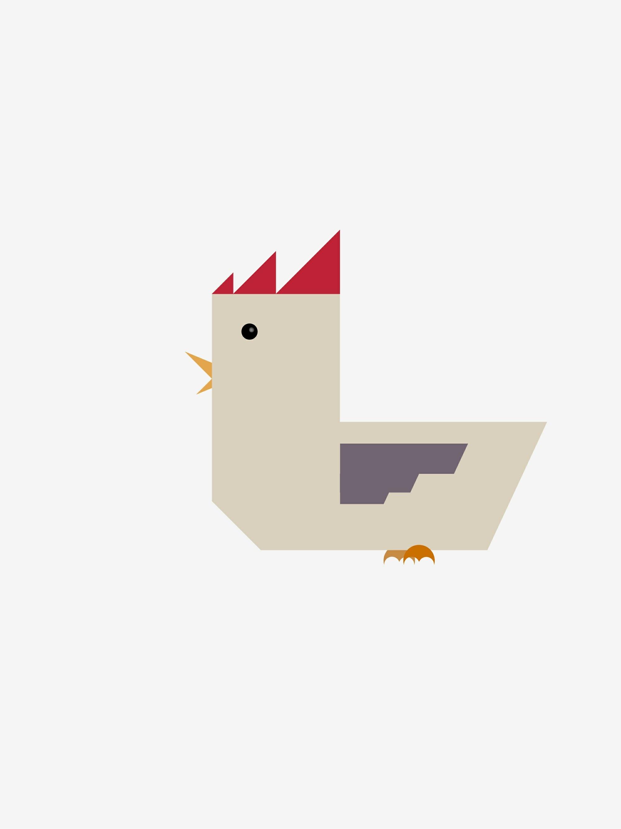 Gambar Palu Ayam Merek Fon Seni Ilustrasi Logo Diagram