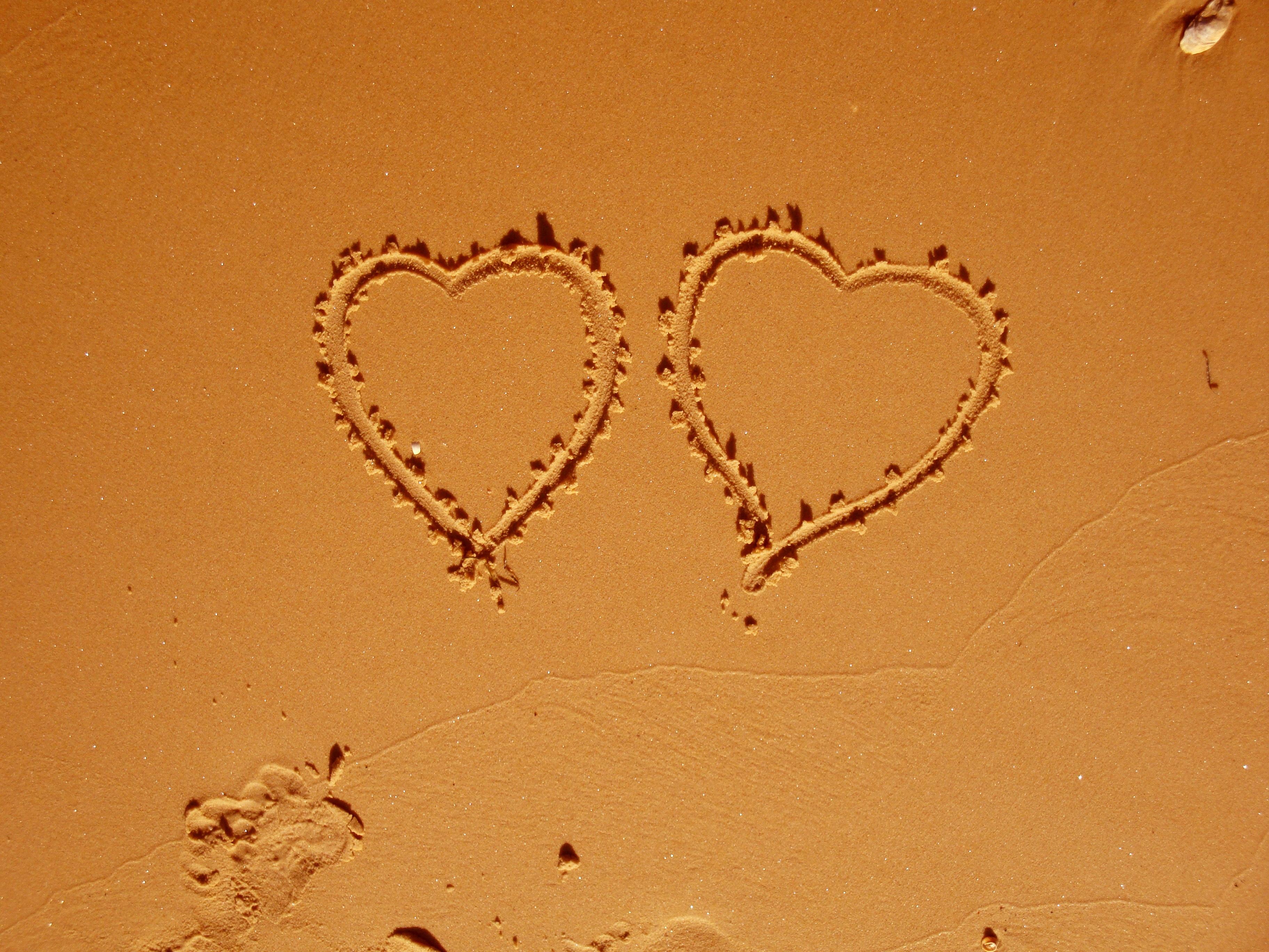 Free images hand beach sand number love heart symbol free images hand beach sand number love heart symbol island romance romantic partner wedding marriage material circle human body biocorpaavc Gallery