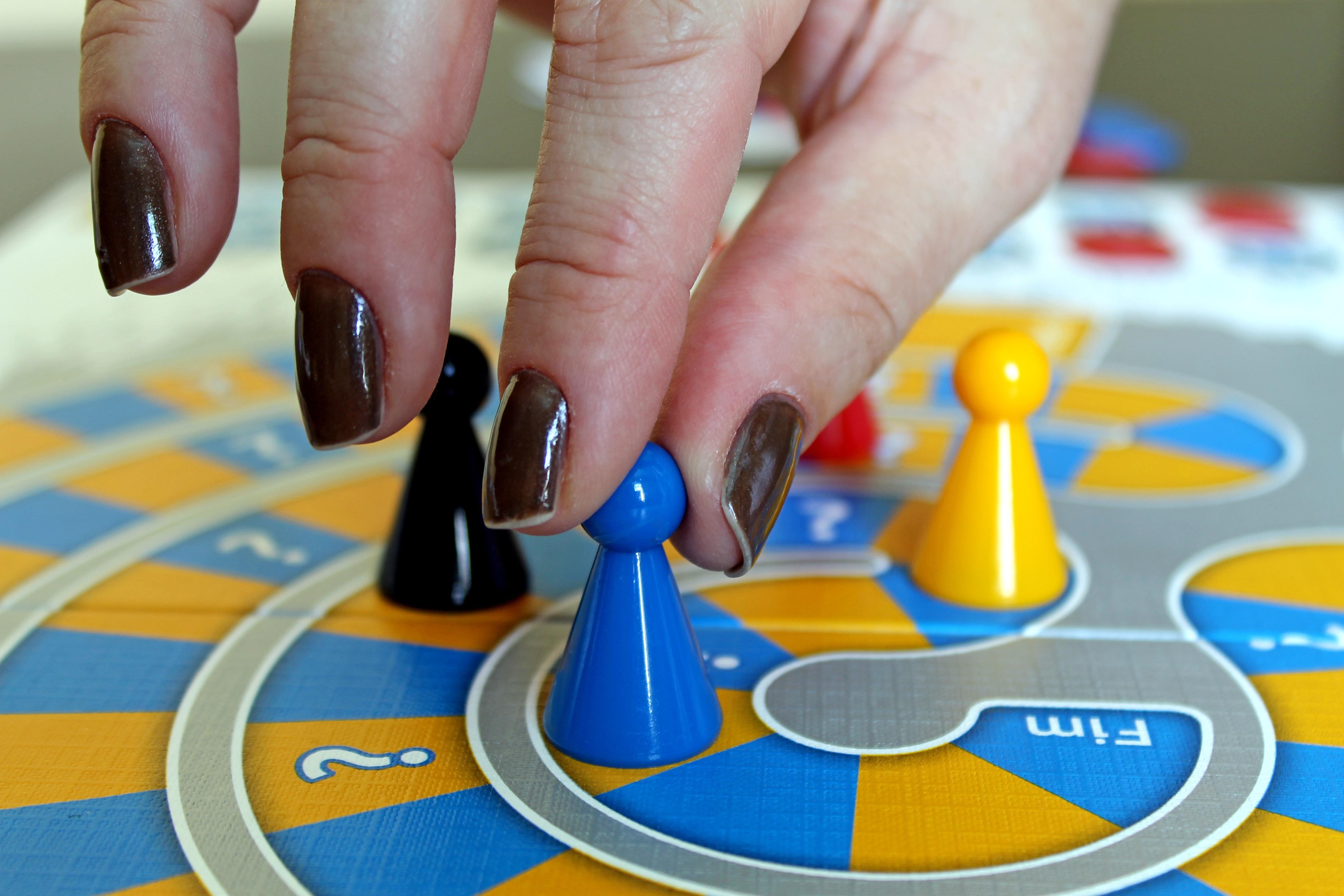 Fotos Gratis Mano Tablero Jugar Dedo Color Azul Una Juego