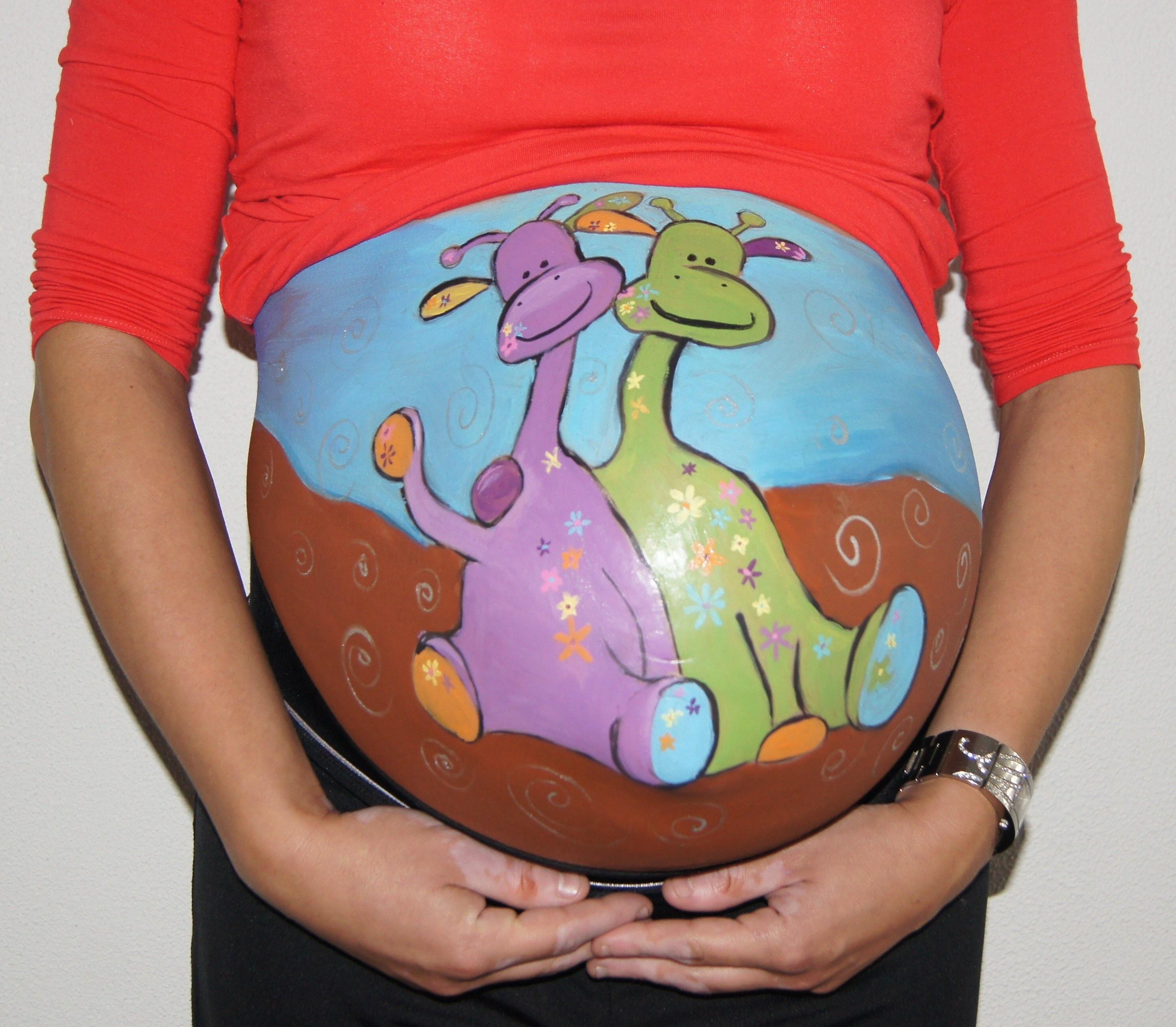 Открытка, прикольные картинки живота беременных