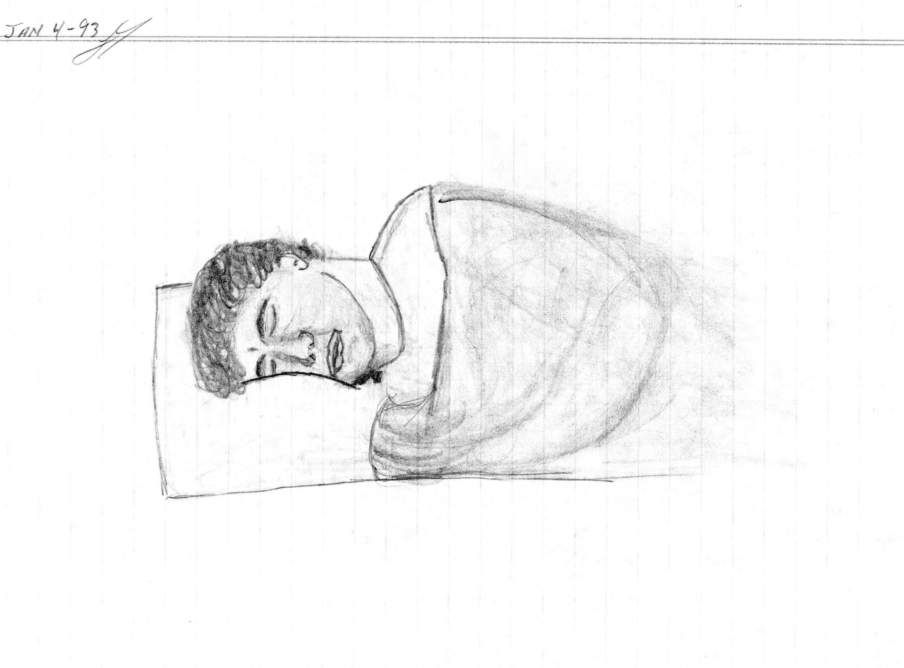 Сон рисовать руками