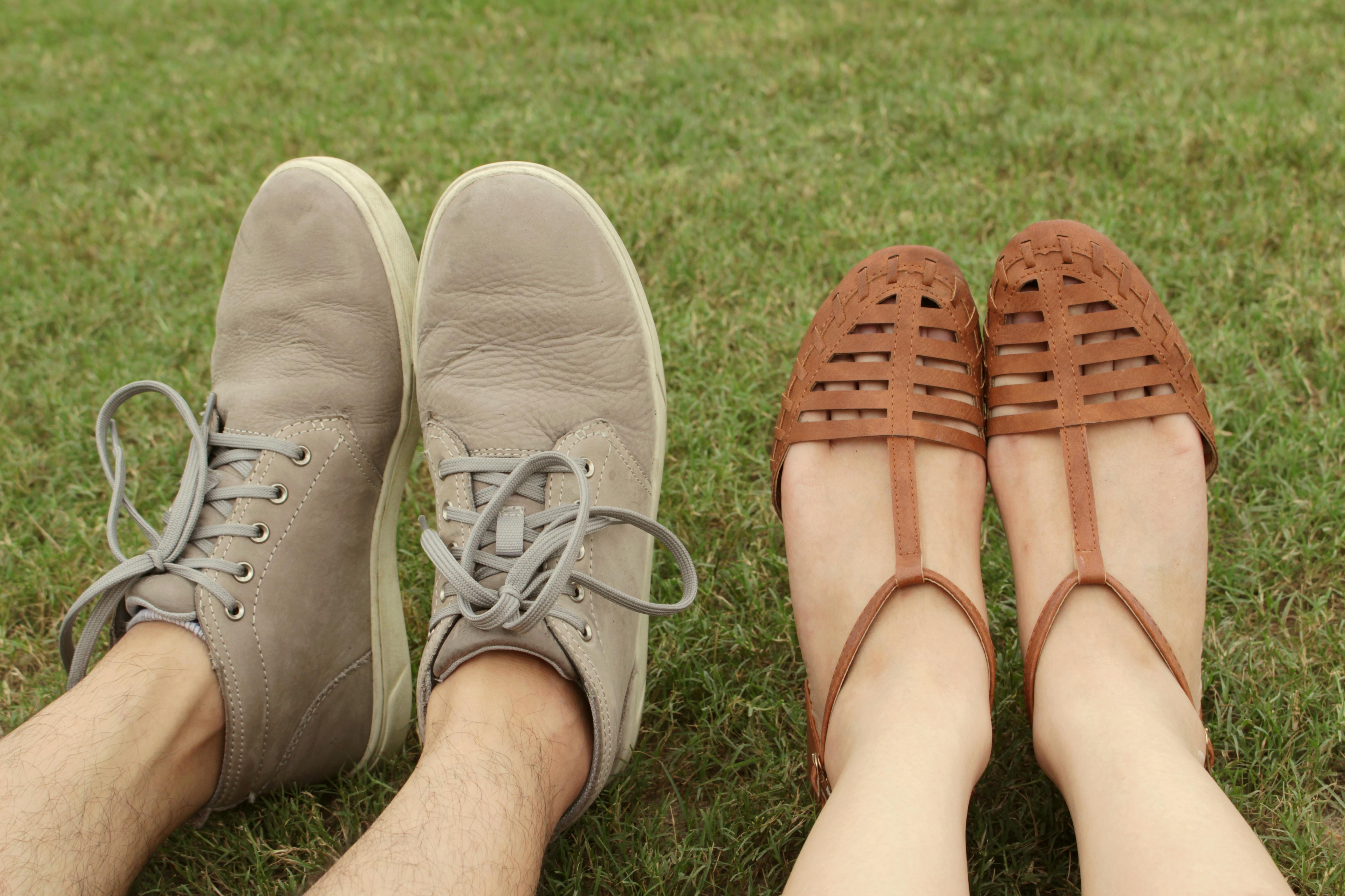 schoenen uitsluitend van leer inclusief voetbodem