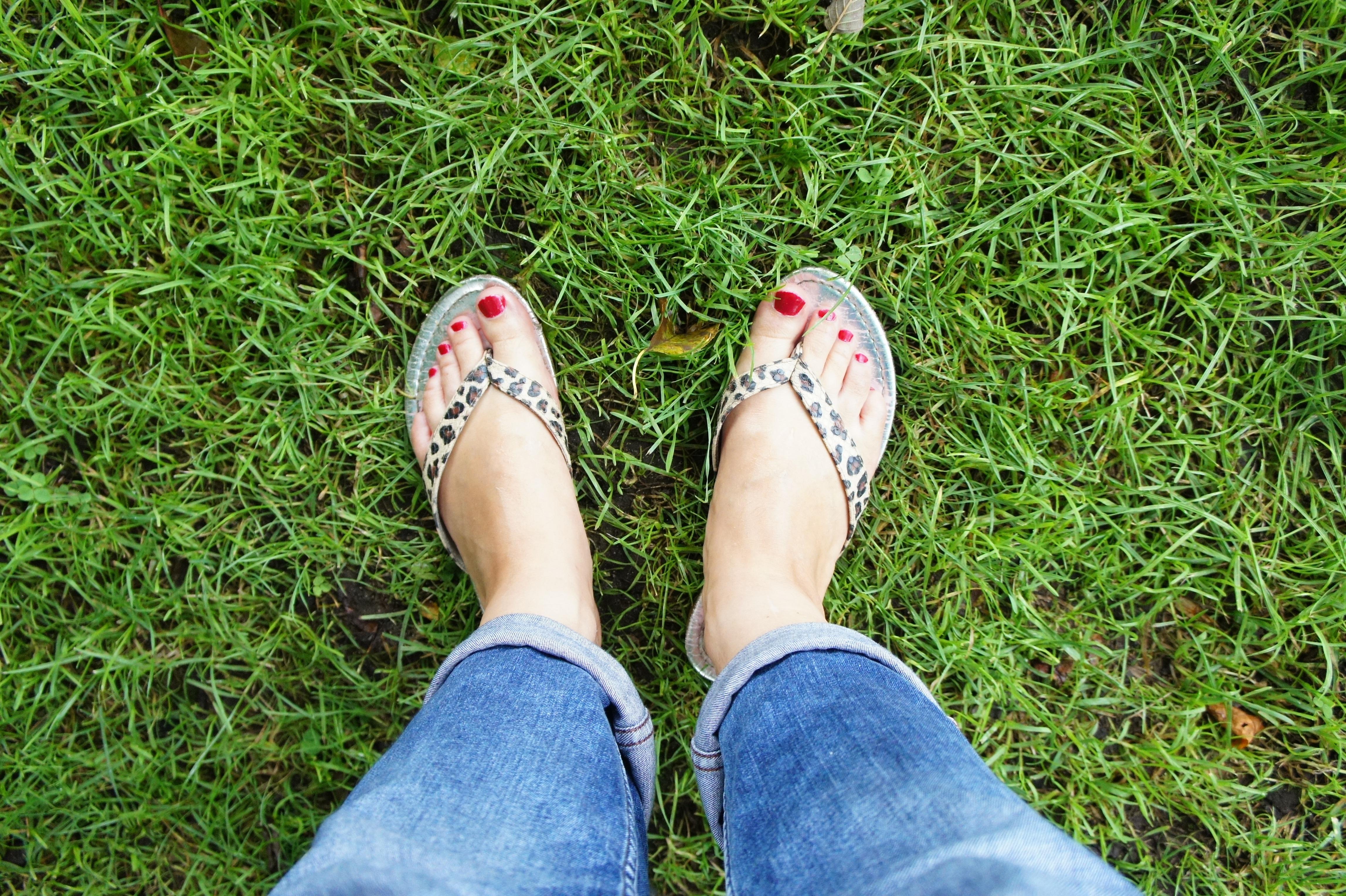 Fotos gratis : mano, césped, zapato, mujer, Pies, hembra, pierna ...
