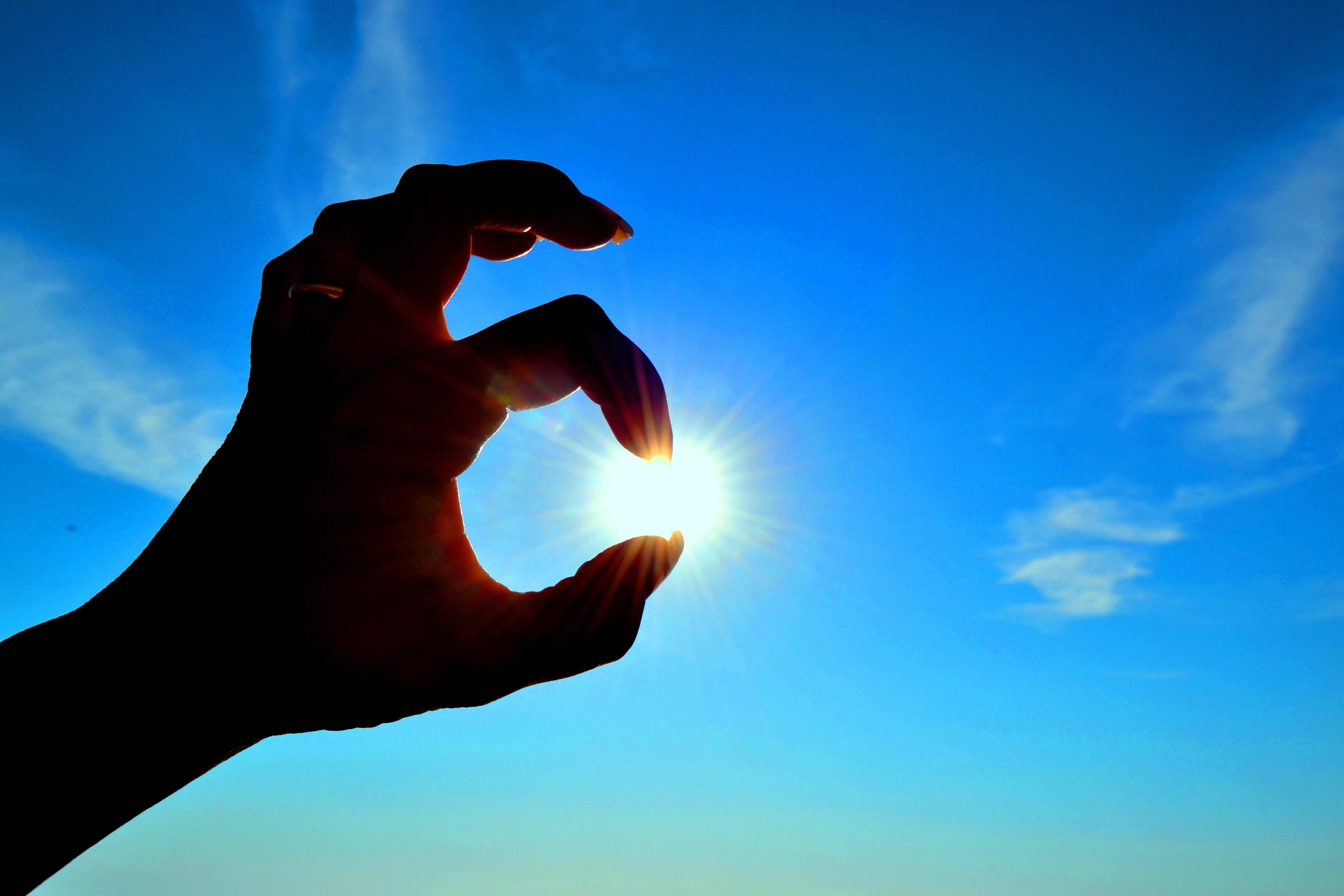 Ладони к солнцу картинки