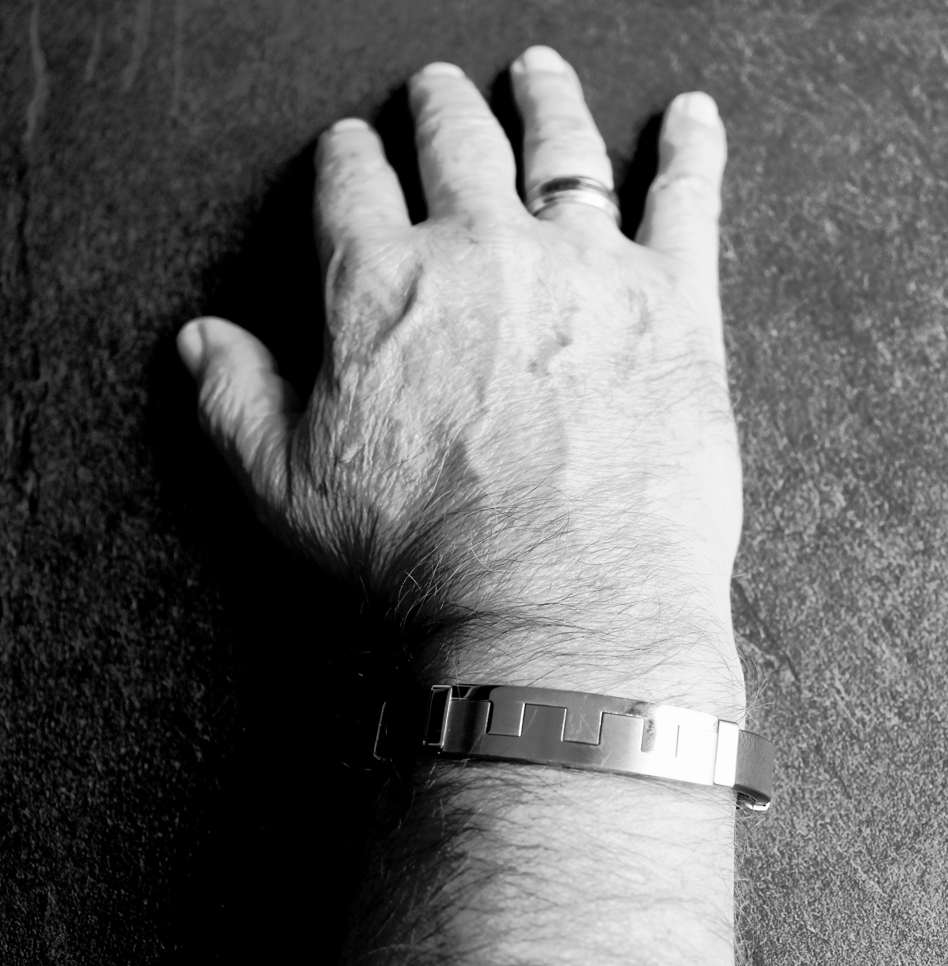 Hand Man Black And White Ring Leg Finger Monochrome Arm Bracelet Close Up Human