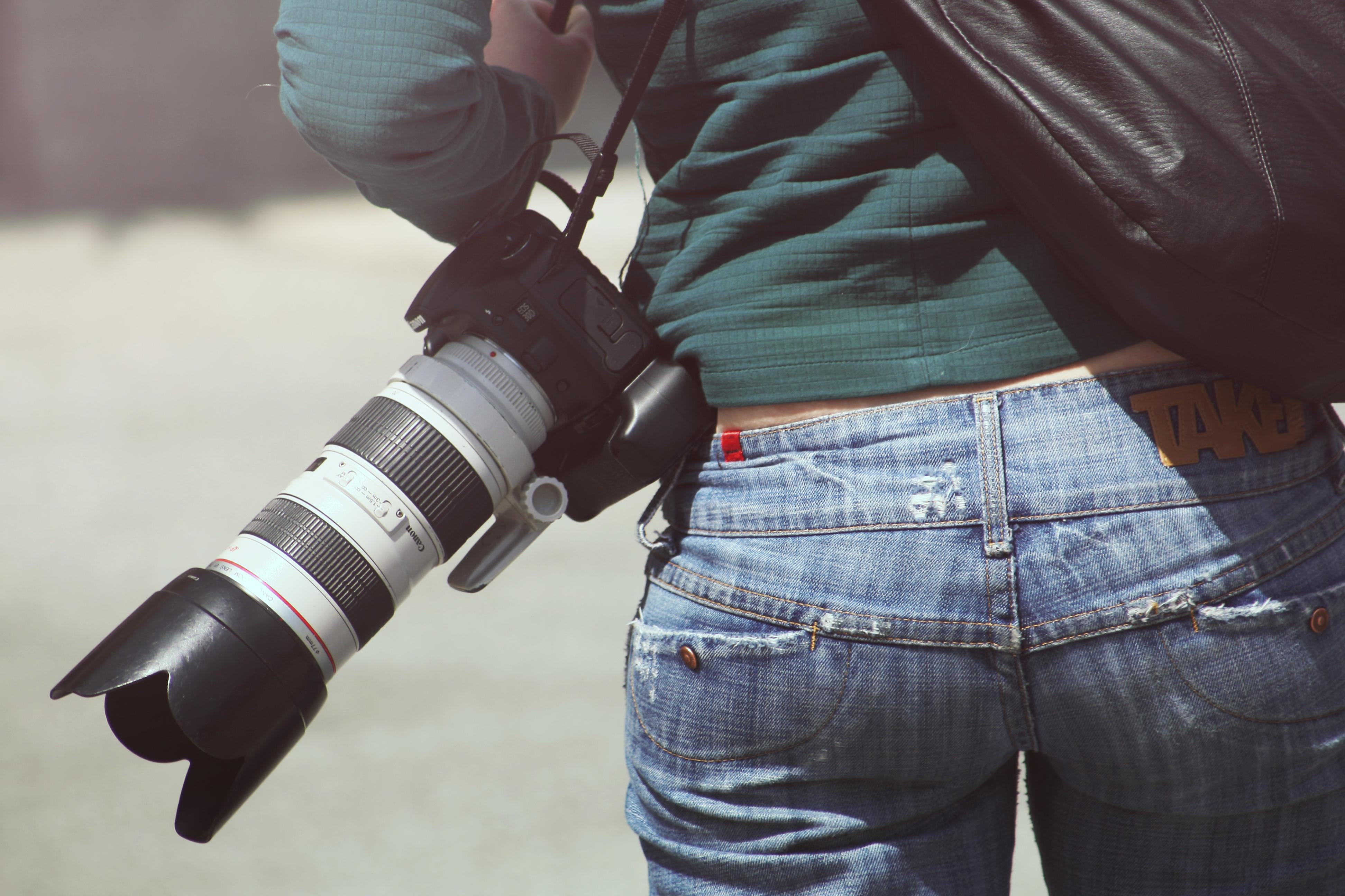 Camera in ass