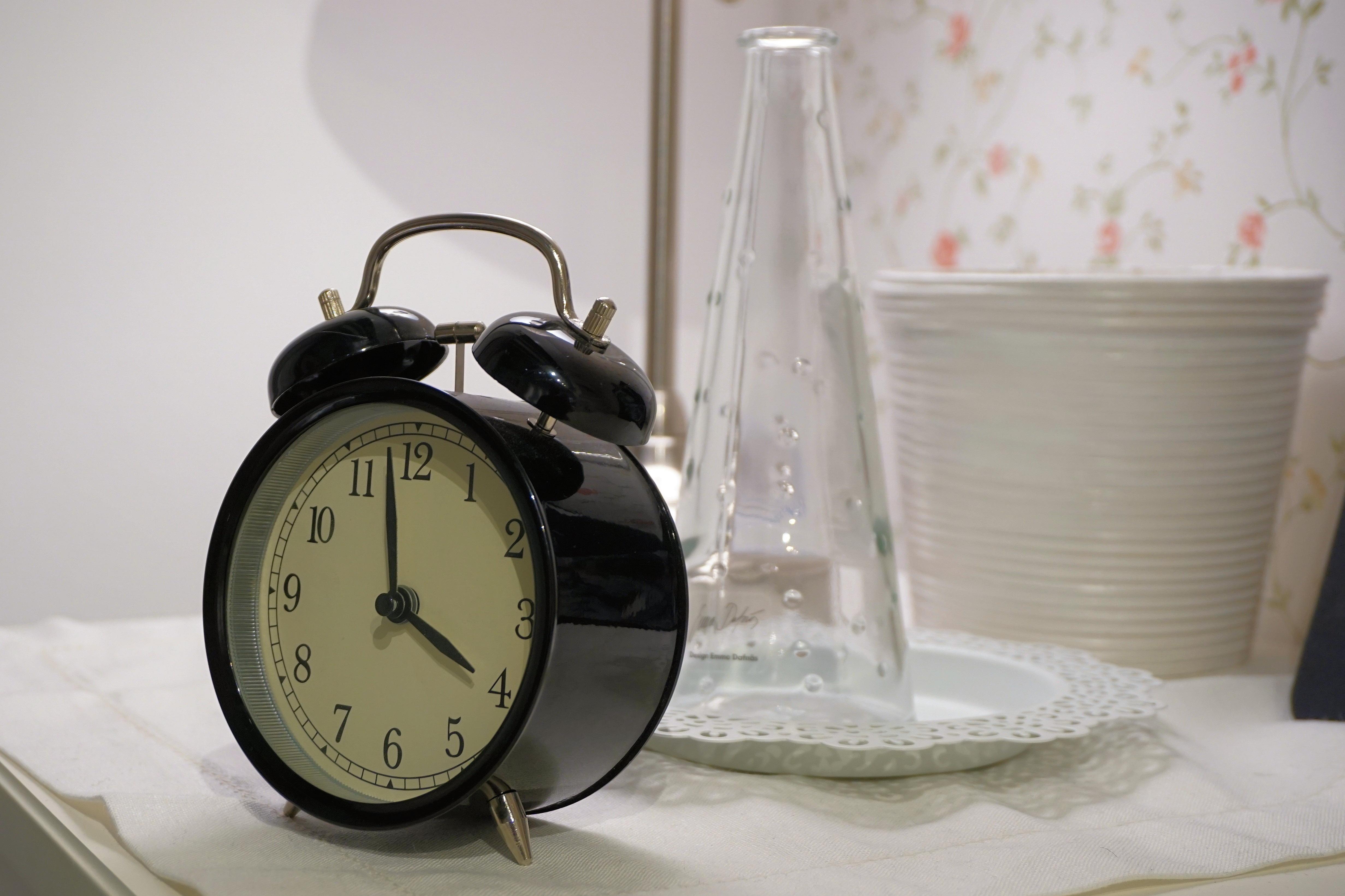 Free Images Hand Morning Hour Alarm Clock Lighting