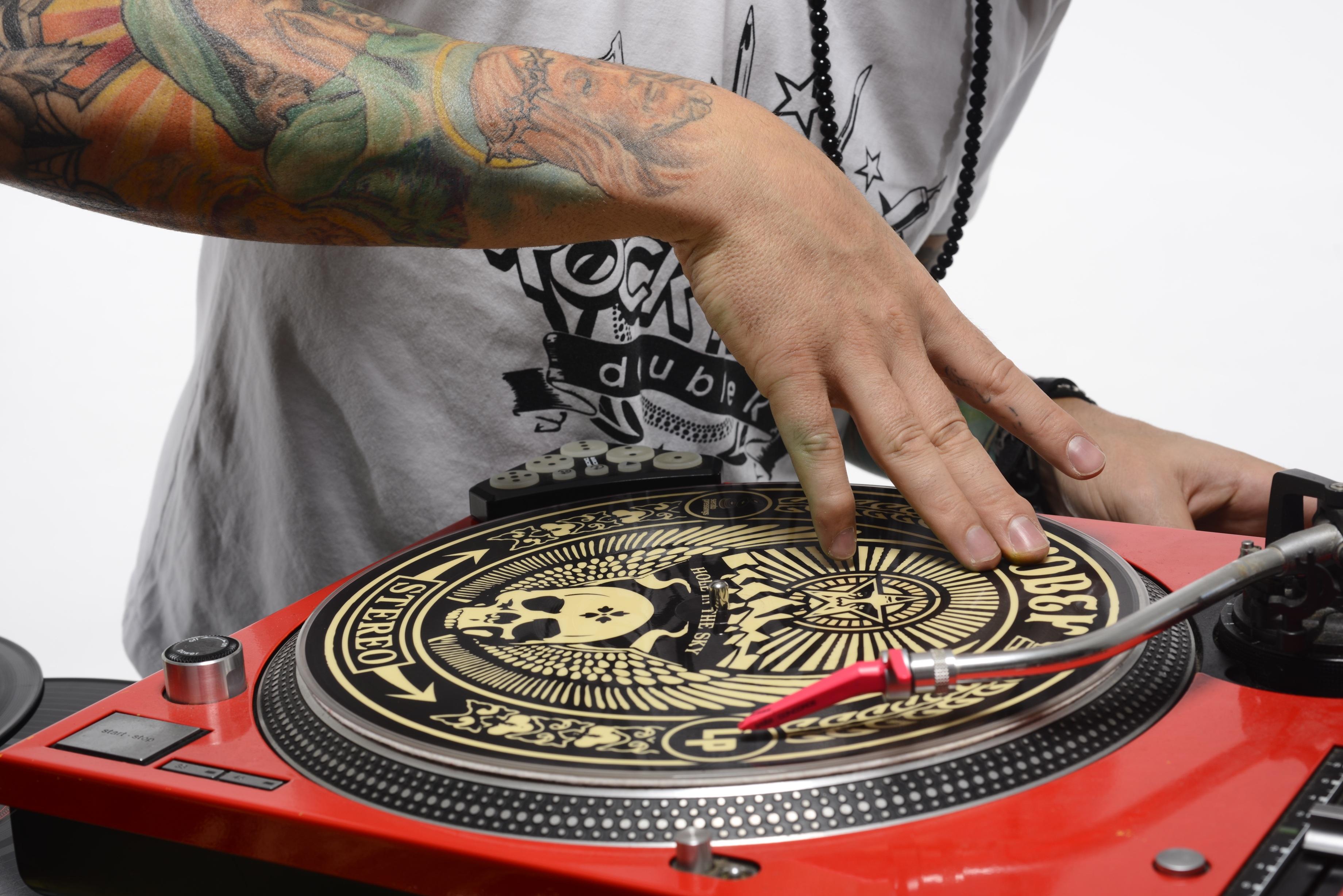 Hand Music Turntable Arm Dj Culture Scratch Tattoos Hip Hop