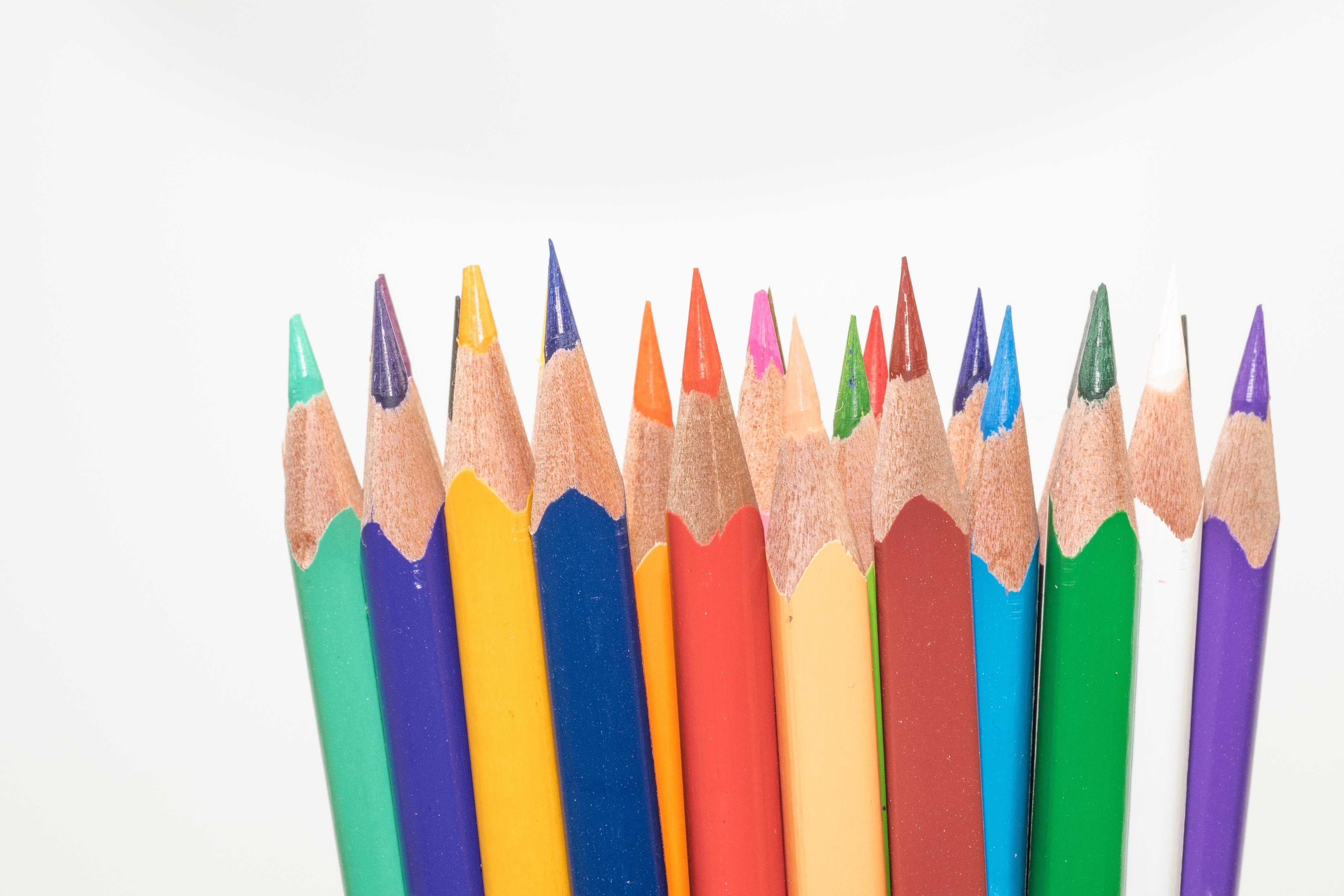 этот большие картинки цветных карандашей нанесение логотипов