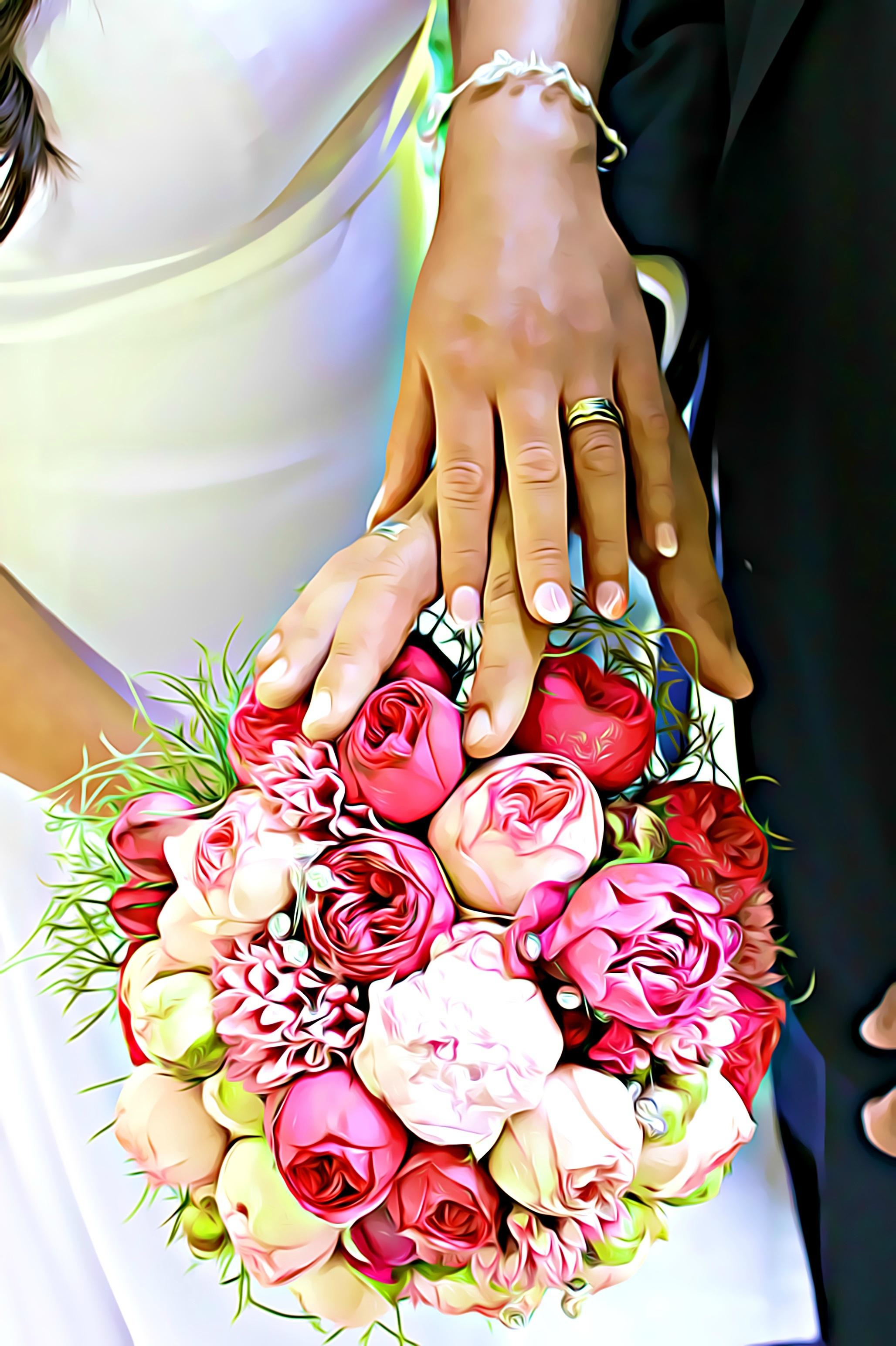 Букеты цветов для женщин картинки