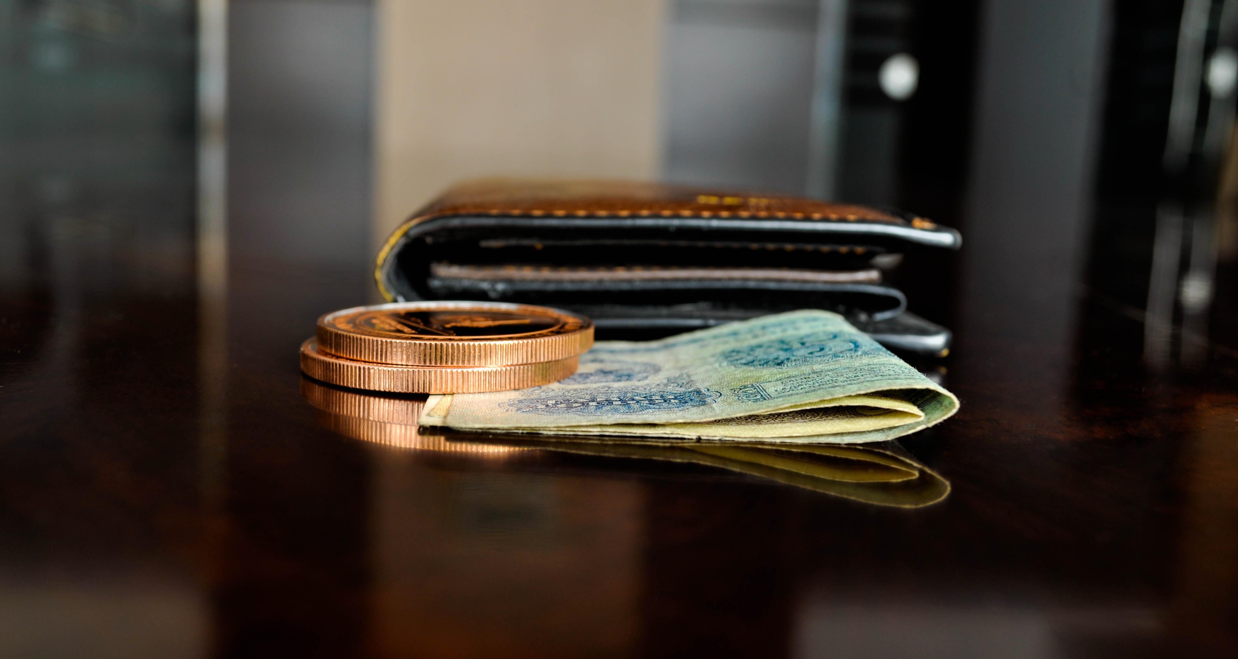 Картинки на рабочий стол кошелек с деньгами