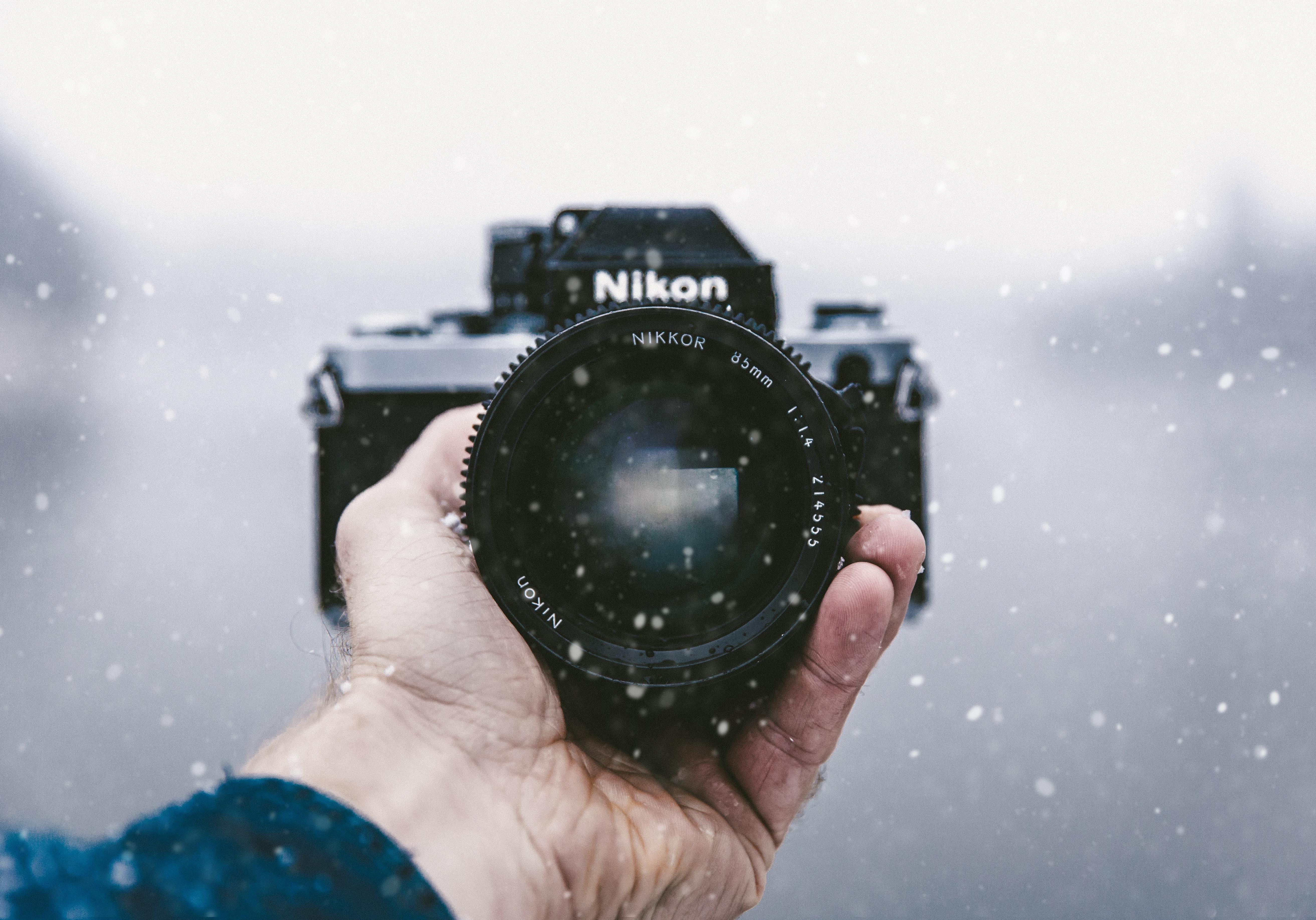 использование фотоаппарата на морозе продолжают помогать