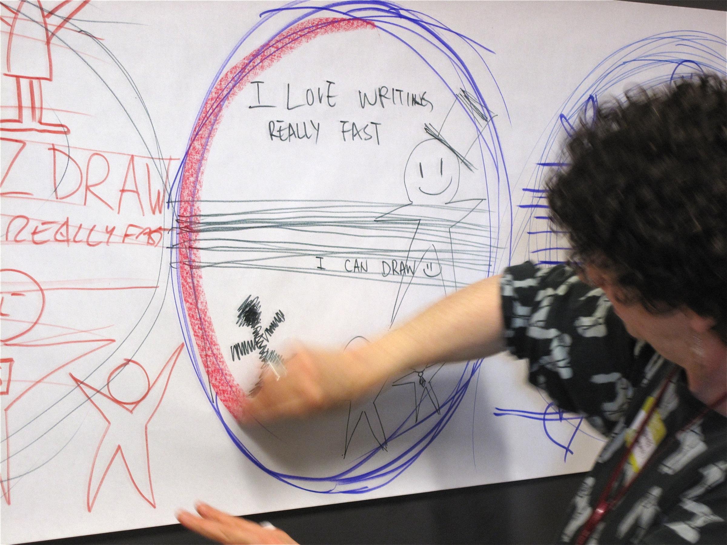Gambar Tangan Vancouver Seni Sketsa Gambar Desain Lingkaran
