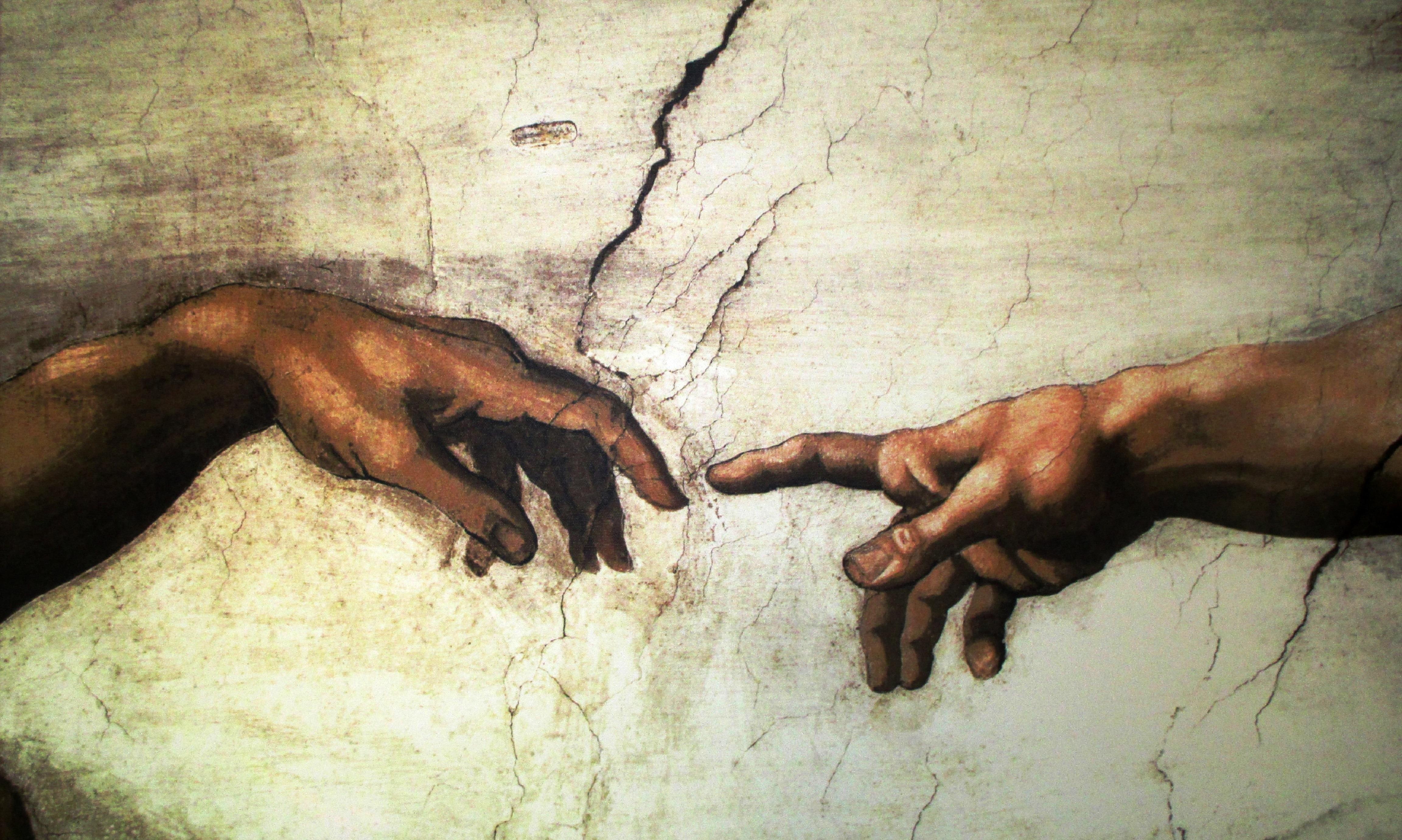 Fotos Gratis Mano Vaticano Roma Mural Michelangelo Modelo De