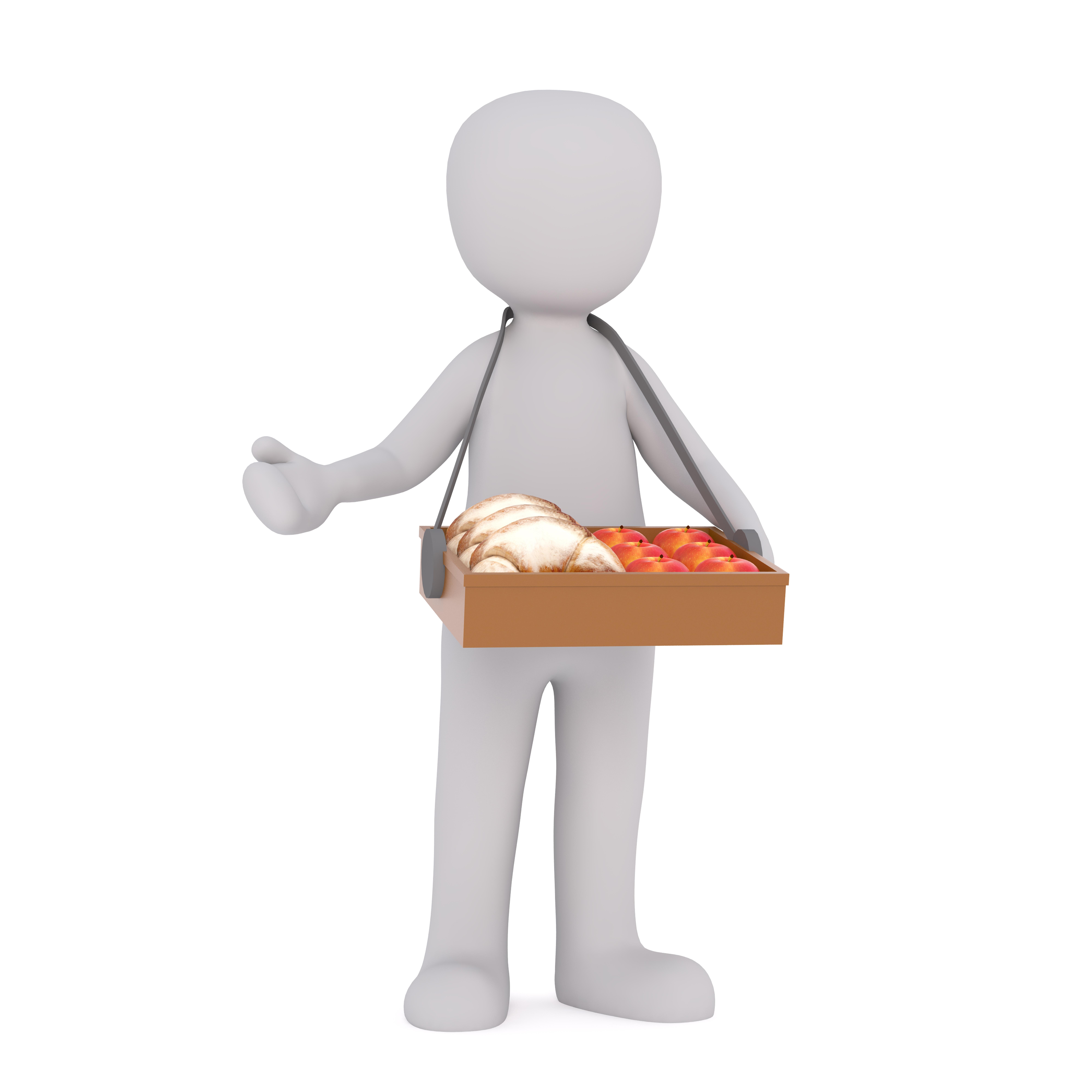 Gambar Tangan Terpencil Model Jari Produk Ilustrasi