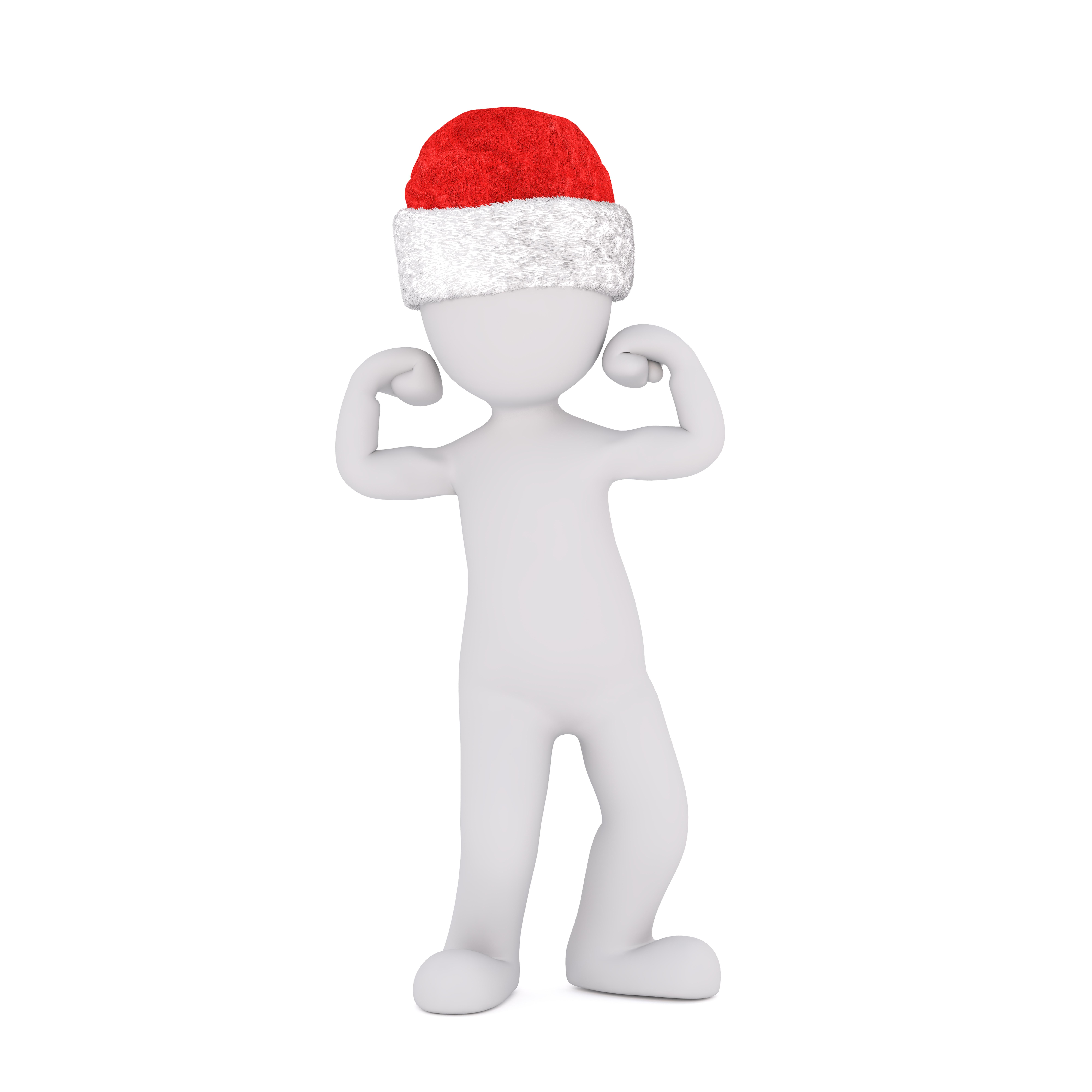 Gambar Tangan Terpencil Jari Menunjukkan Gerakan Hari Natal