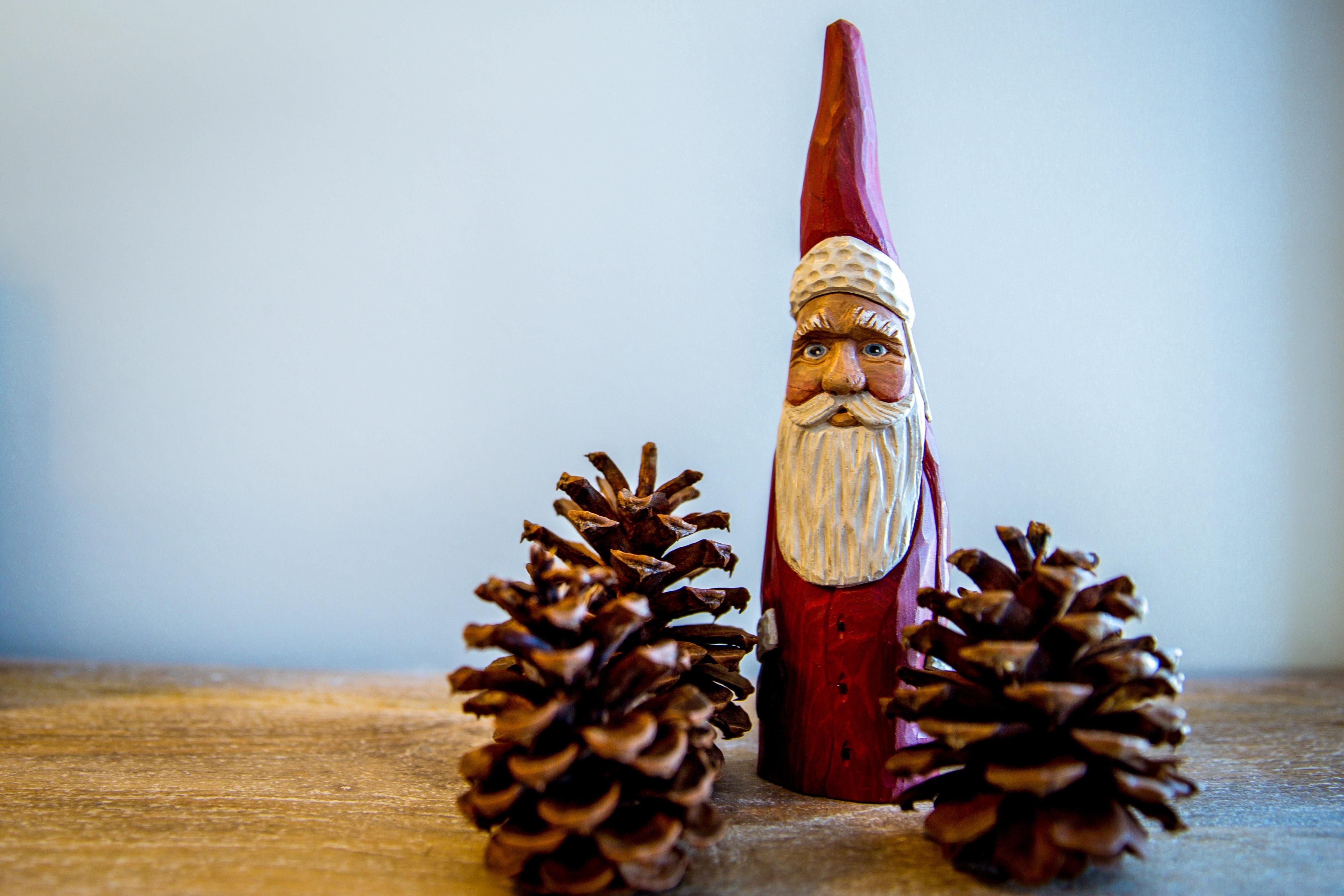 Santas magic key christmas signs carved wood sign santa s magic