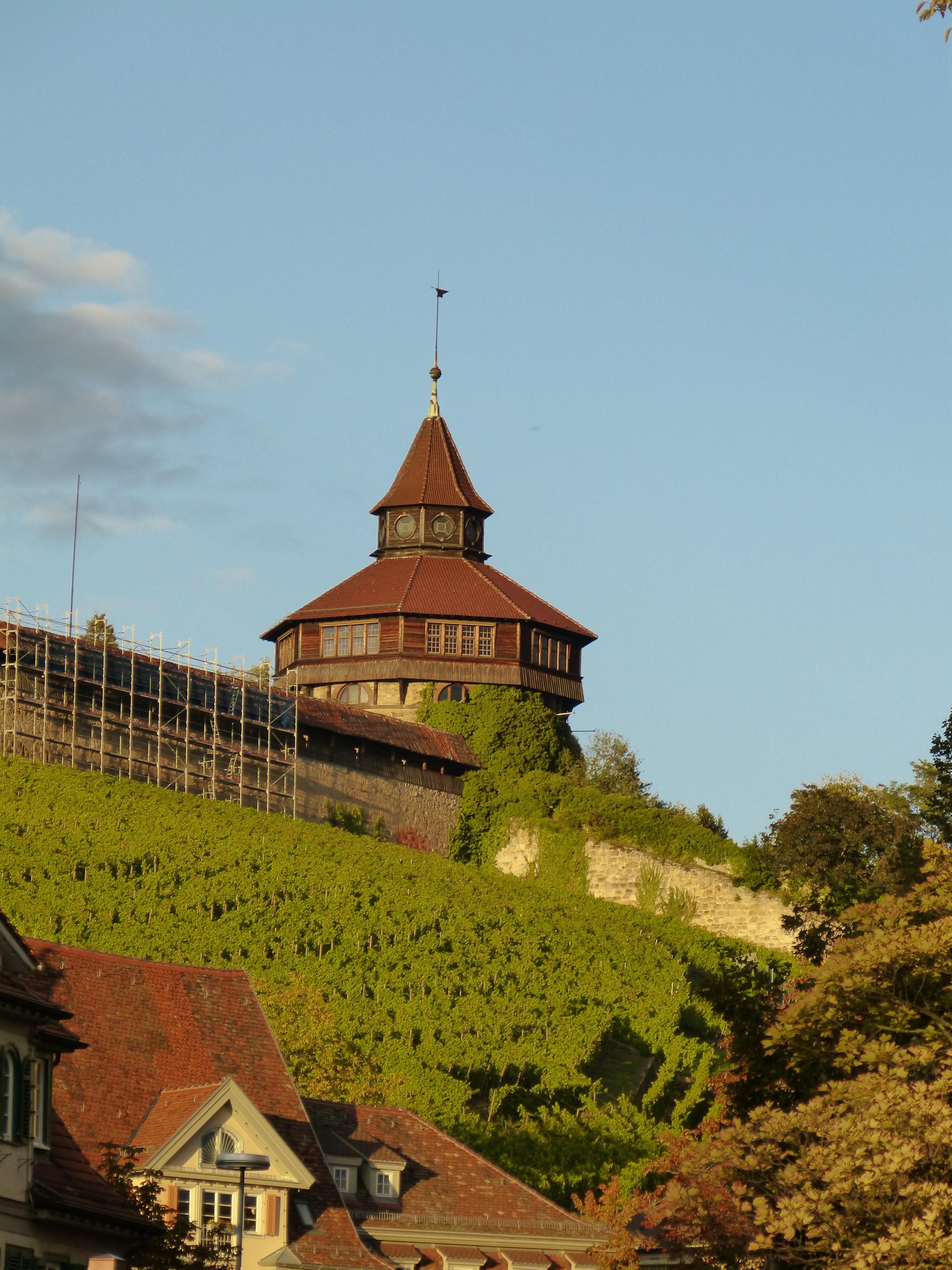 Kostenlose Foto Hügel Stadt Gebäude Chateau Herbst Schloss