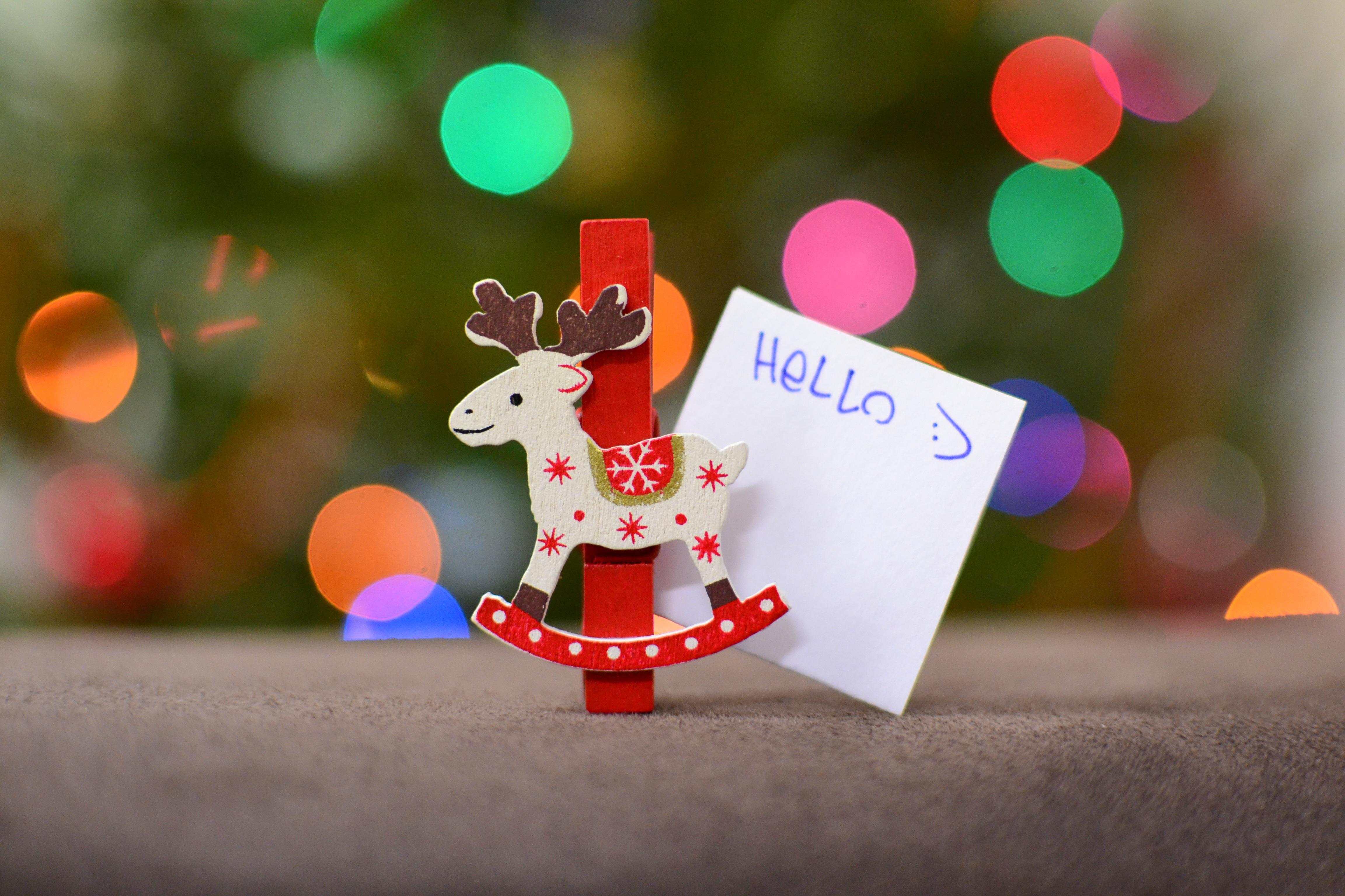 Free Images Holiday Toy Season Christmas Decoration
