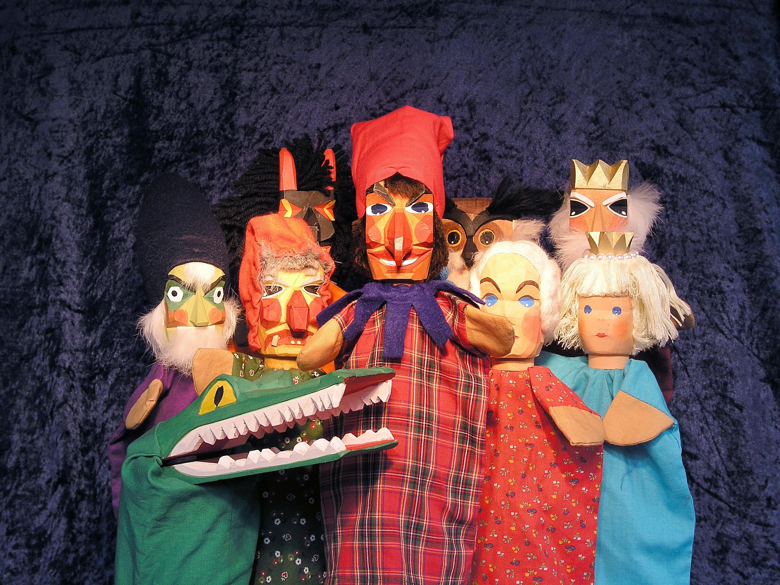 Картинка театральная куклы