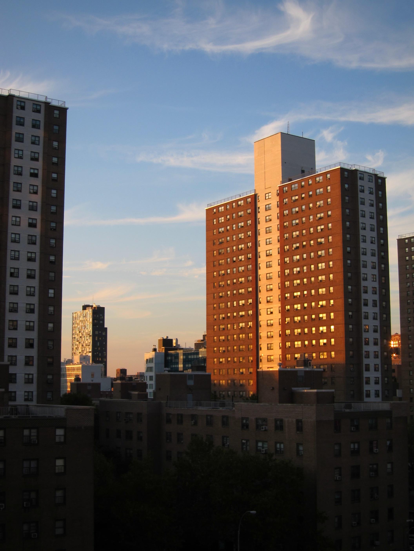 Immagini belle orizzonte architettura cielo tramonto for New york architettura contemporanea