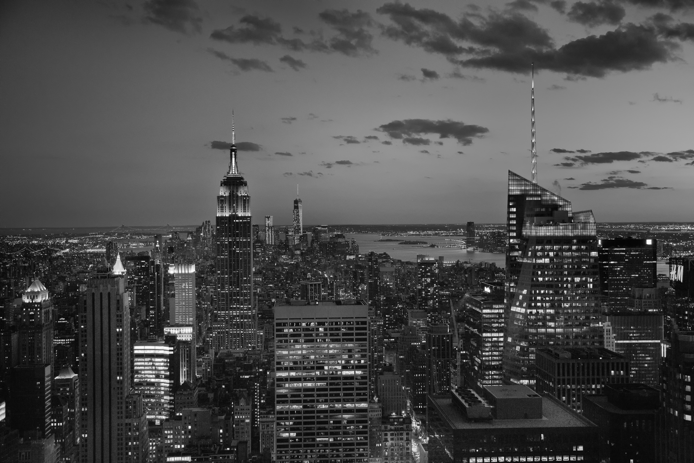Free Images : horizon, black and white, sunset, skyline ...