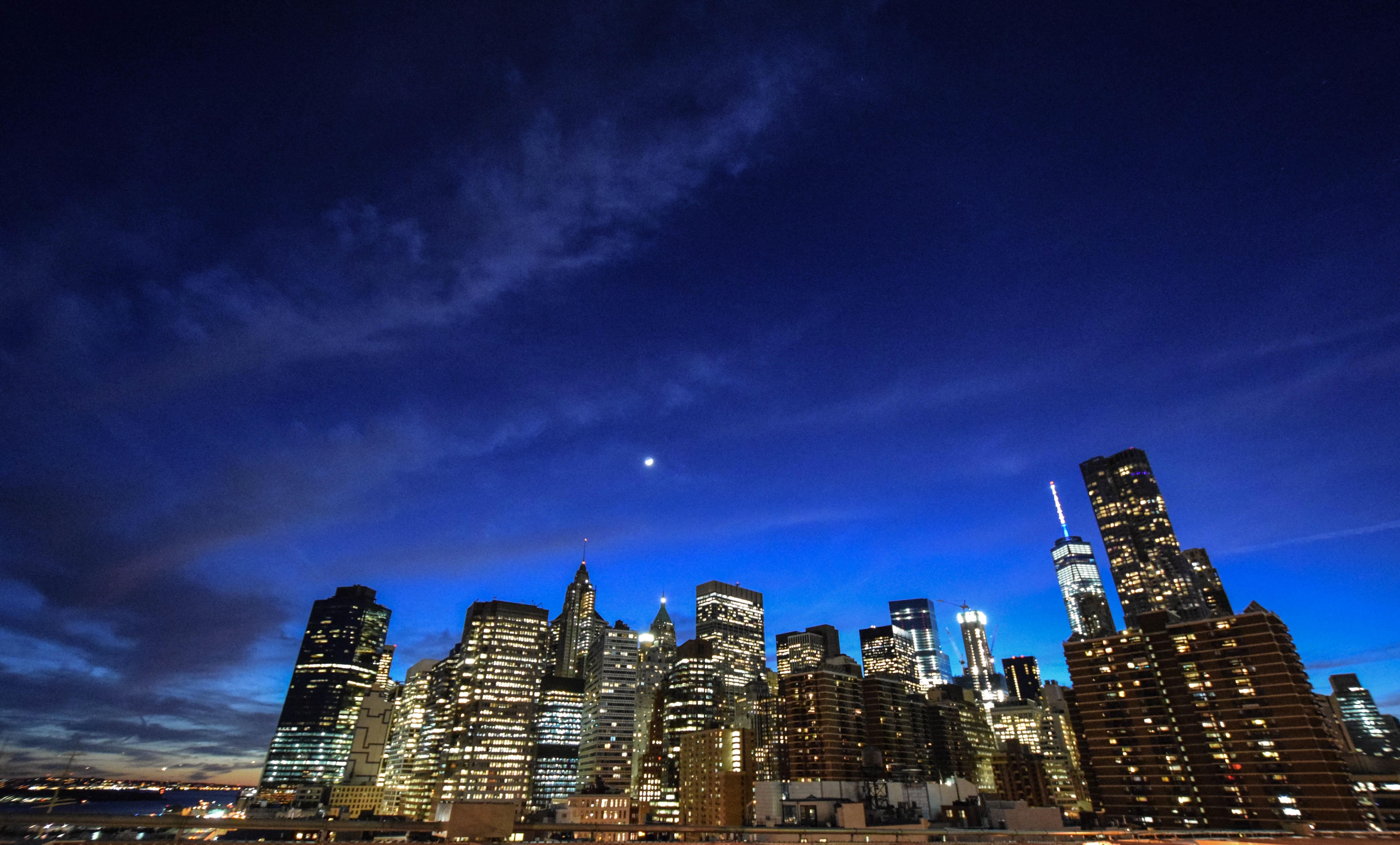 фото панорамы ночной город теперь