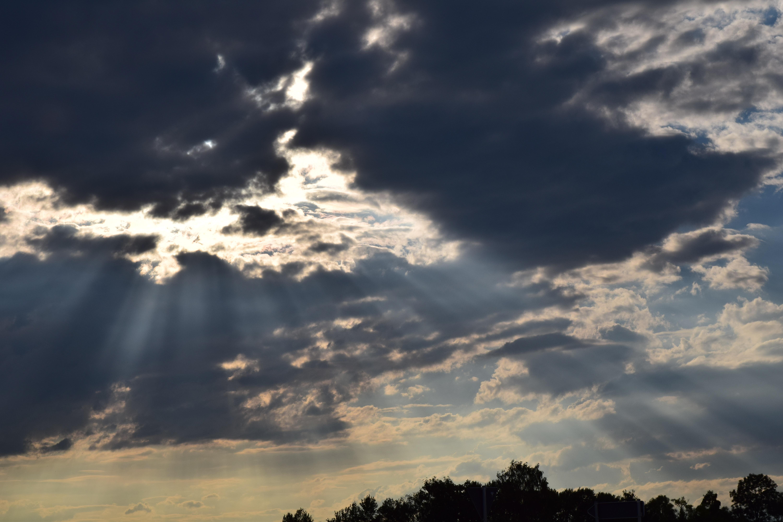 Картинки с темными тучами небо затянуто