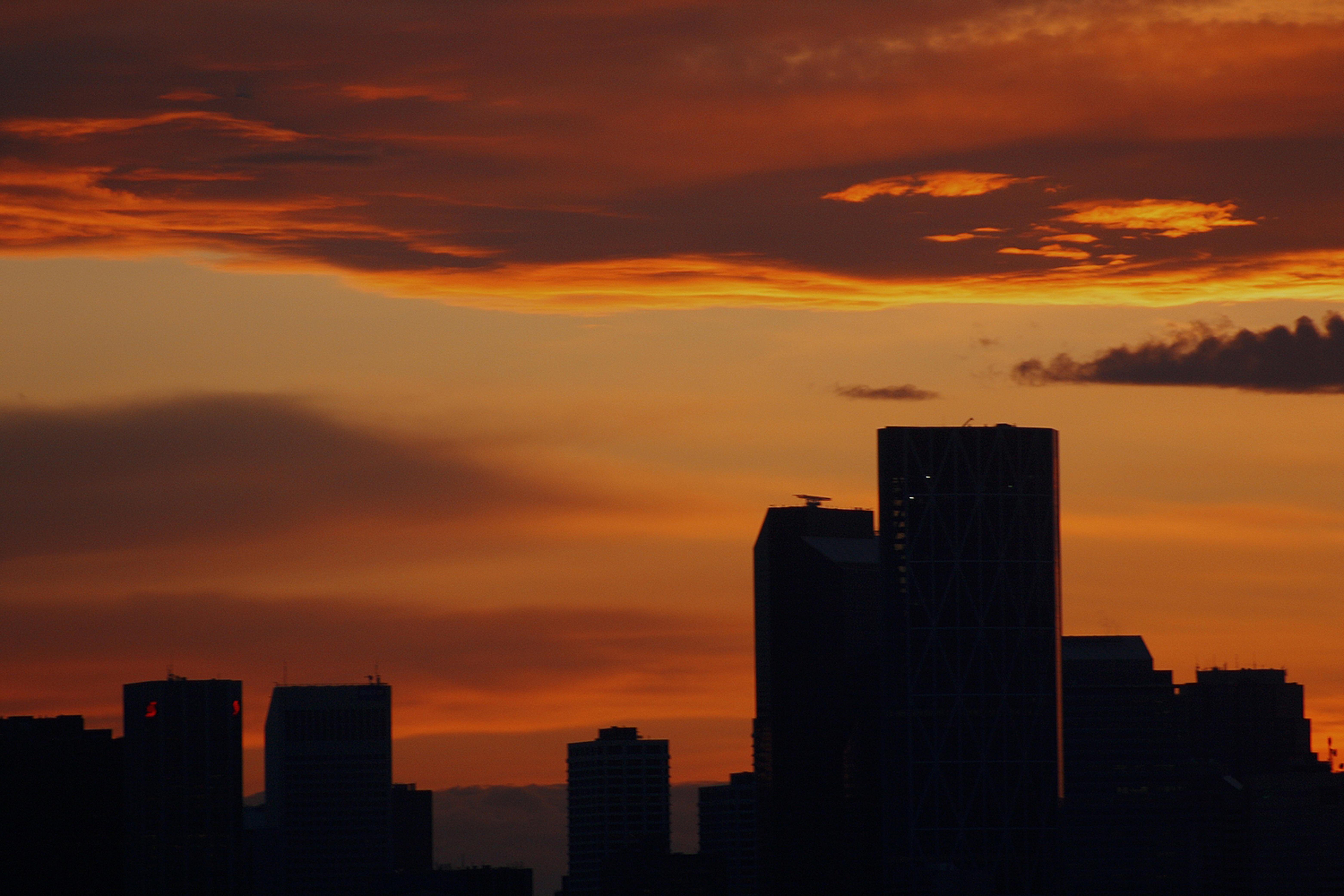 Free Images Horizon Cloud Sunrise Sunset Skyline