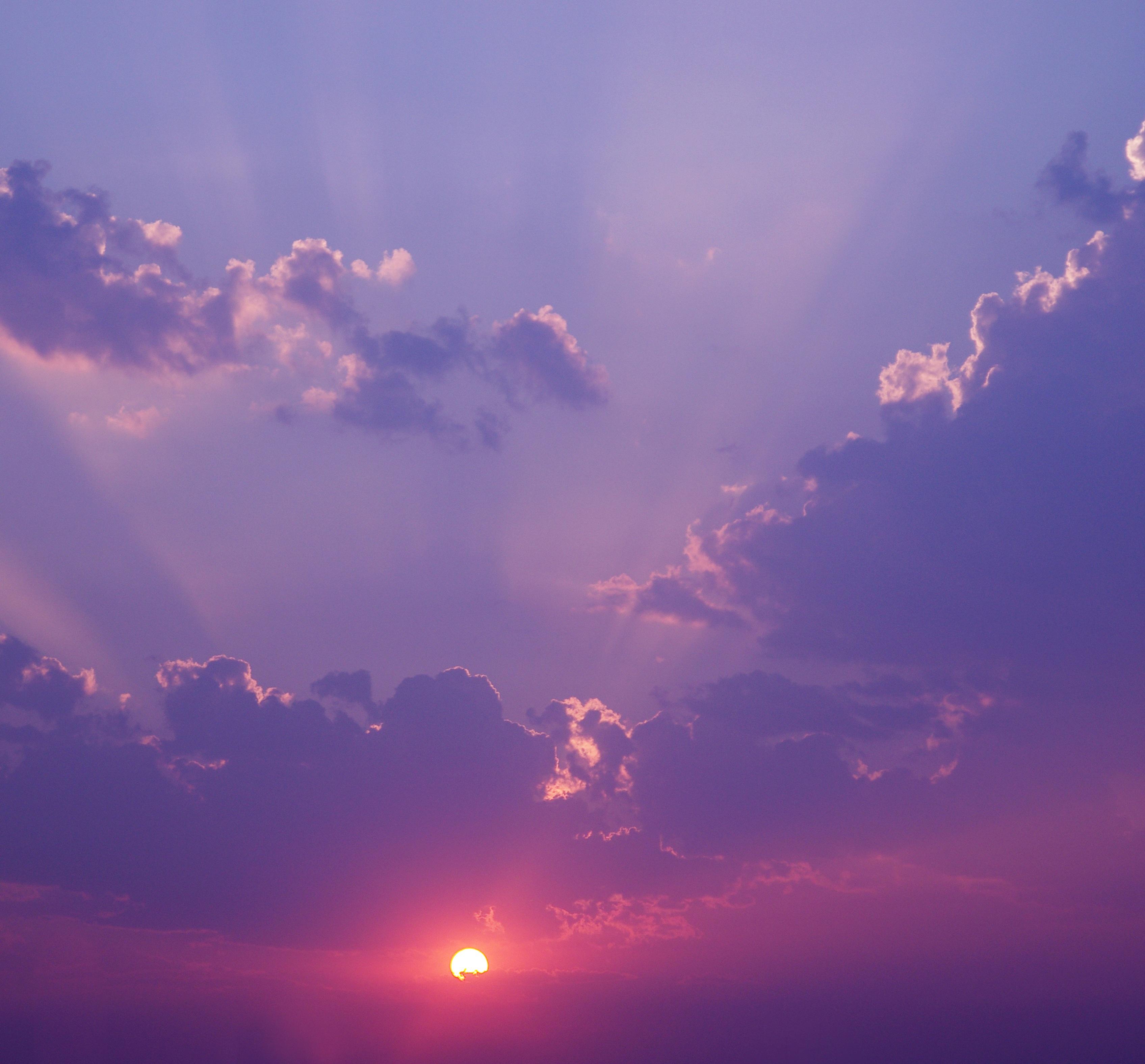 утро небо картинки проем при