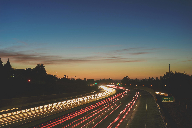 Free Images Horizon Light Sky Sunrise Sunset Road