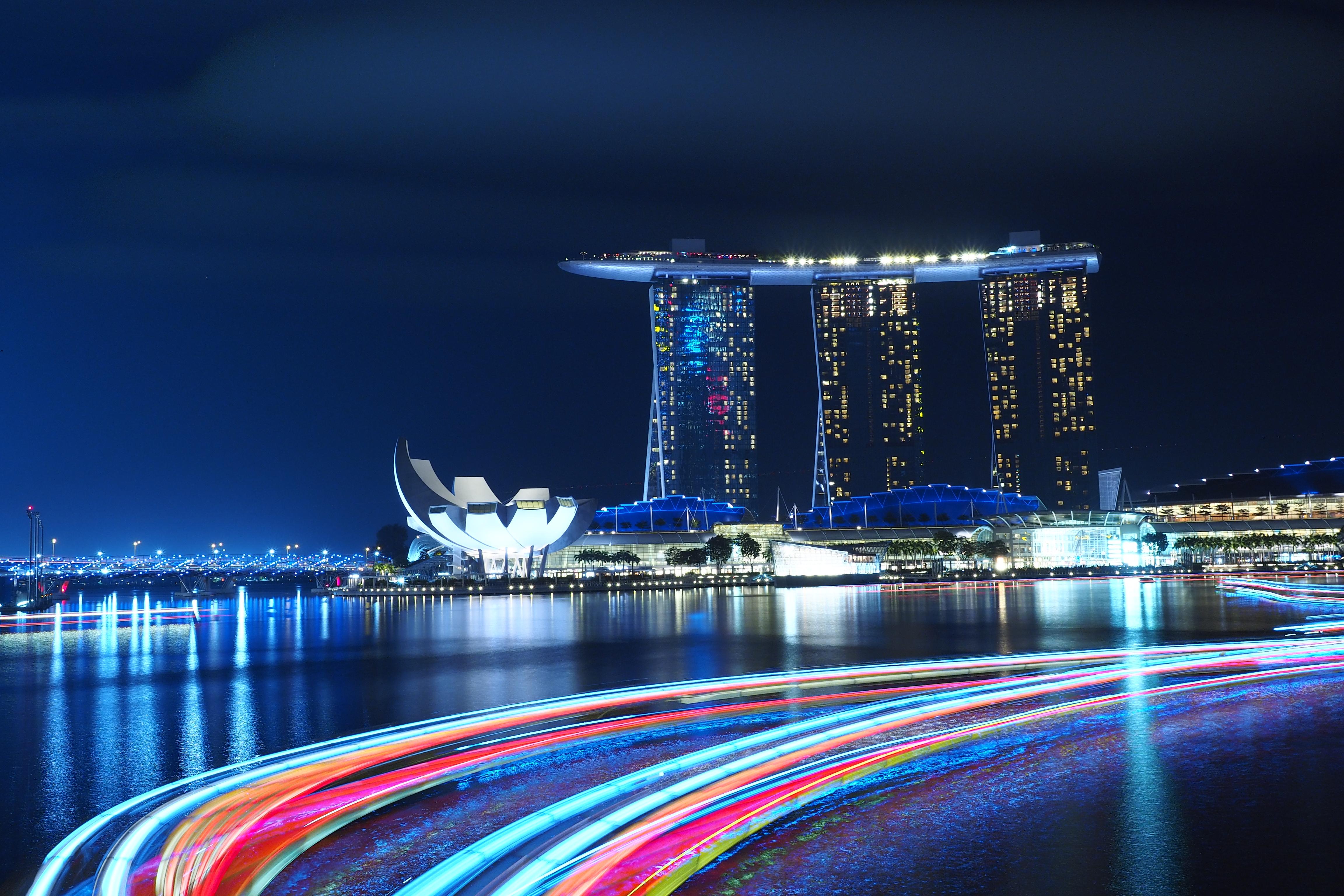 Free Images : Horizon, Light, Structure, Skyline, Night