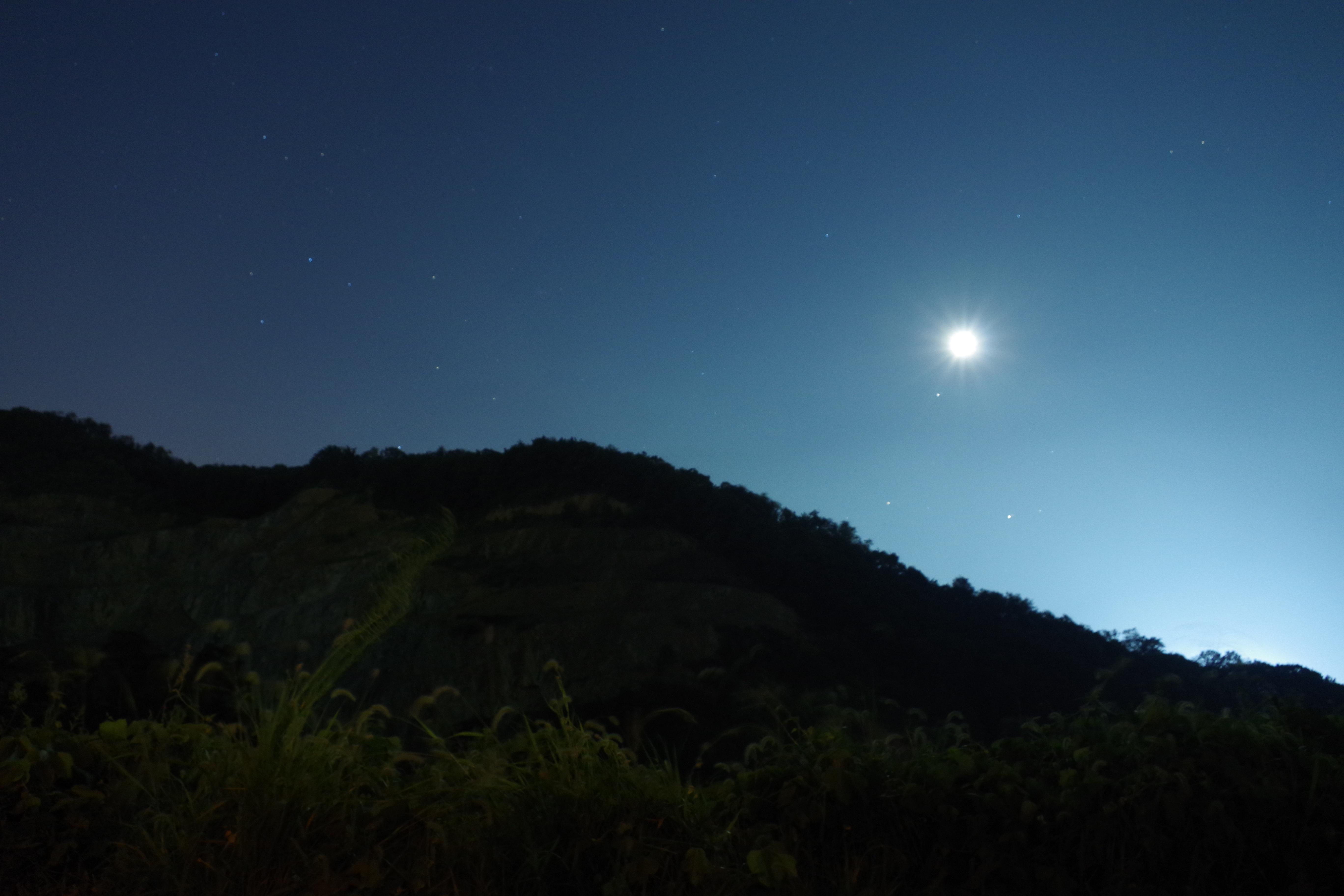 Fotograf Ufuk Dag Bulut Gokyuzu Gece Gunes Isigi Star