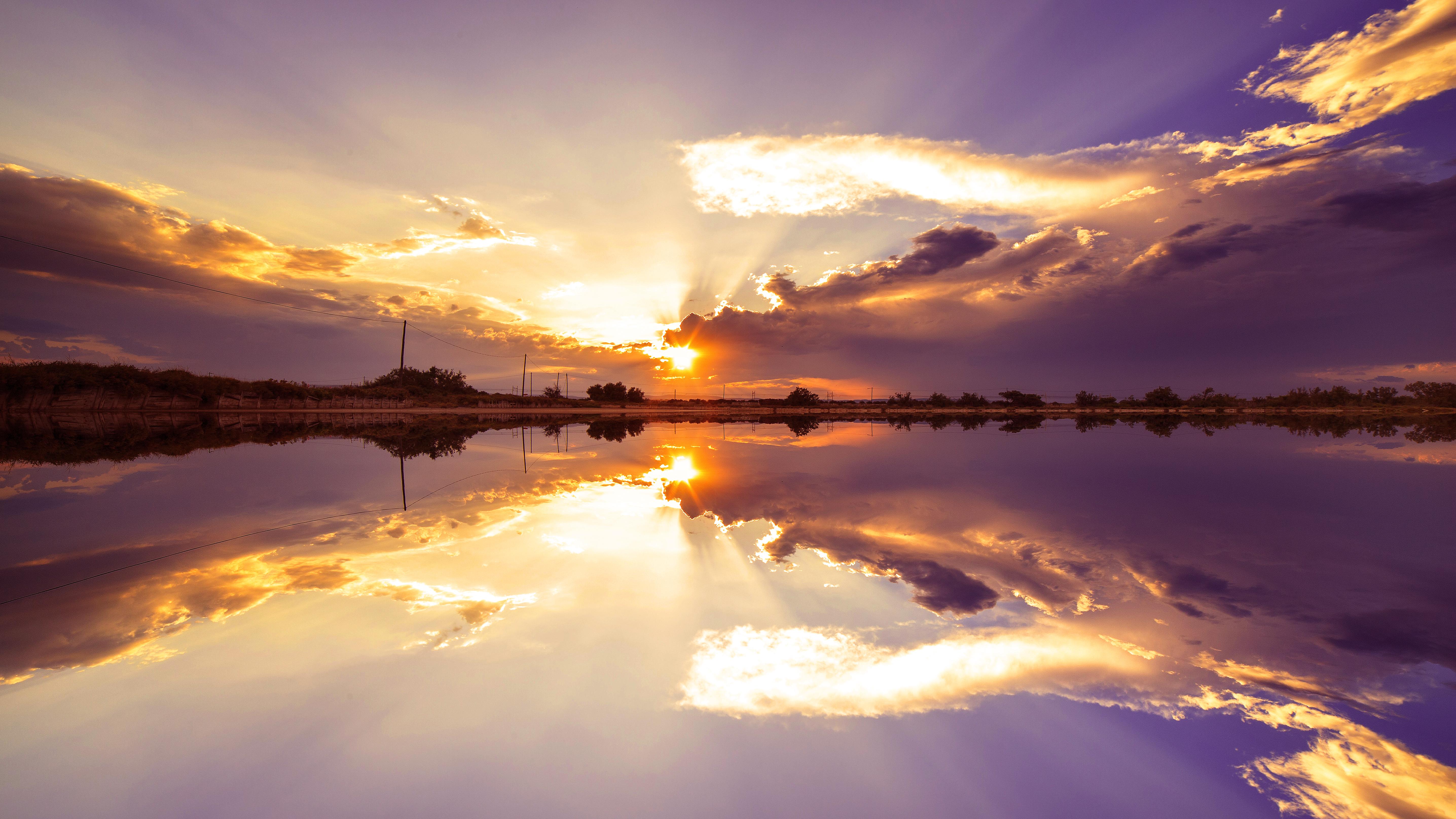 правильное фотографируем восход солнца наверное придумывали же