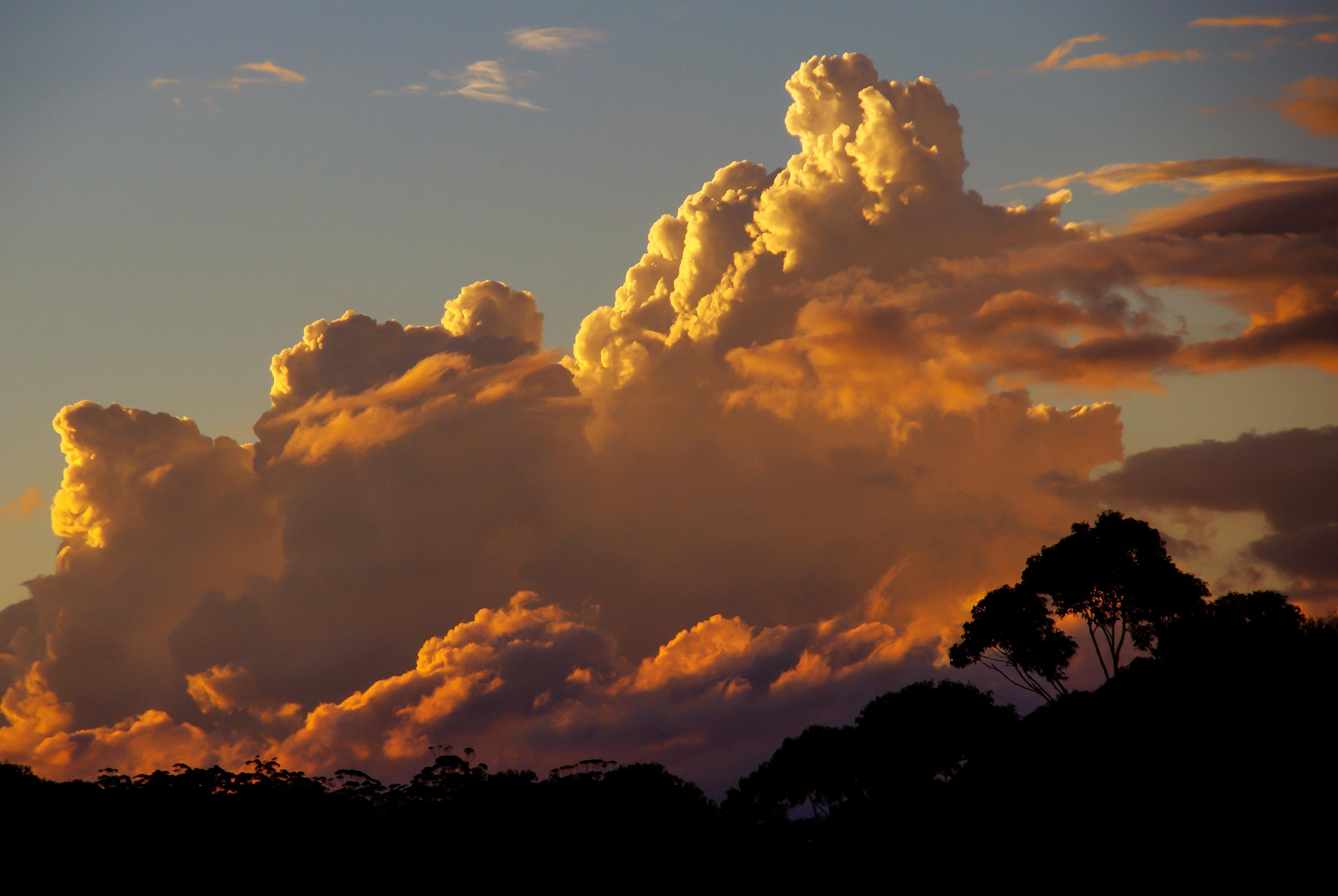 Картинки закатов и облаков