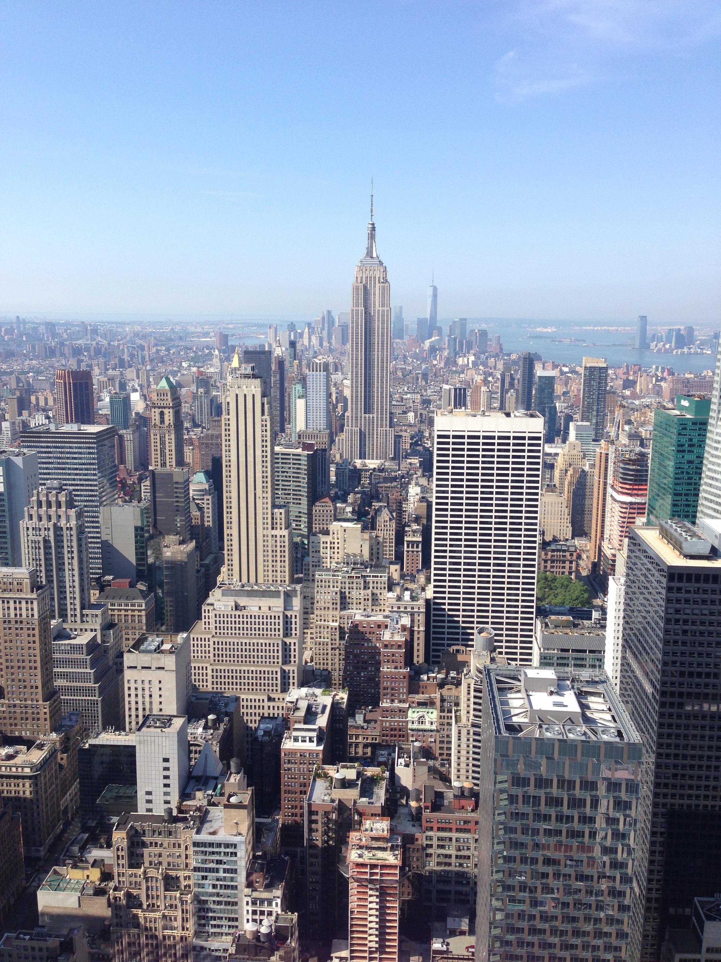 nueva york paisaje urbano centro de la ciudad torre punto de referencia bloque de pisos nuevo metrpoli barrio fotografa area rea urbana