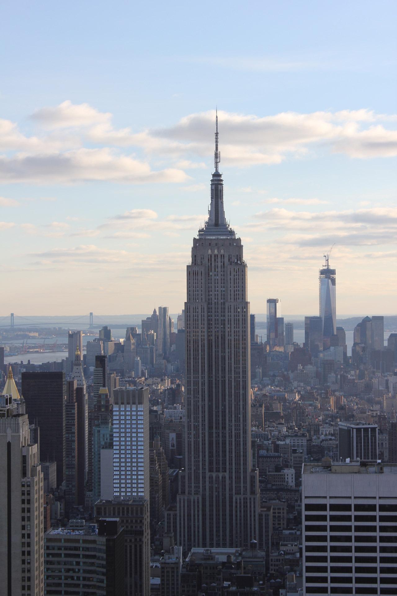 free images horizon skyline skyscraper new york manhattan new york city cityscape. Black Bedroom Furniture Sets. Home Design Ideas