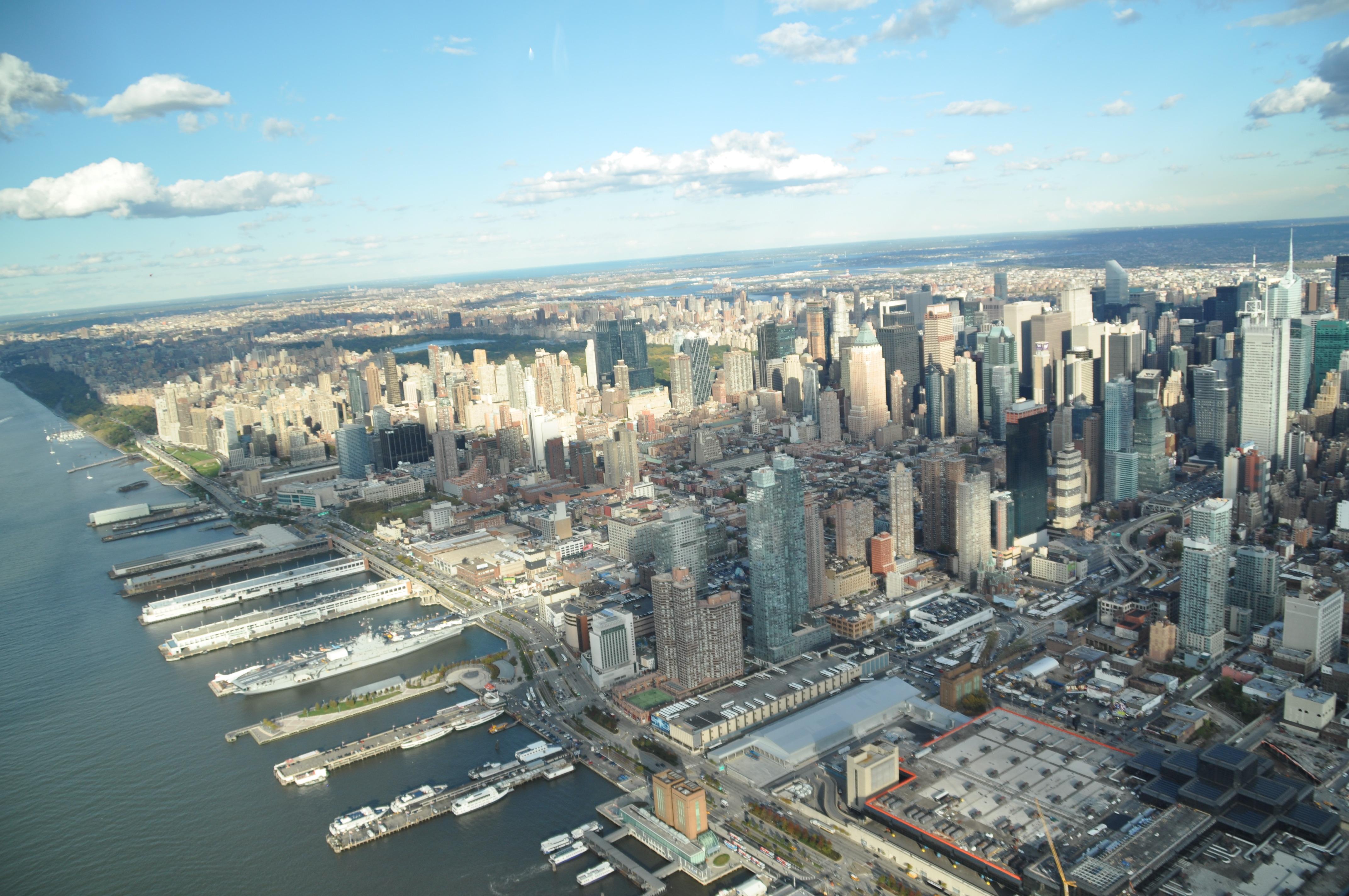 fotos gratis horizonte rascacielos nueva york nueva york paisaje urbano panorama centro de la ciudad america vista area bloque de pisos