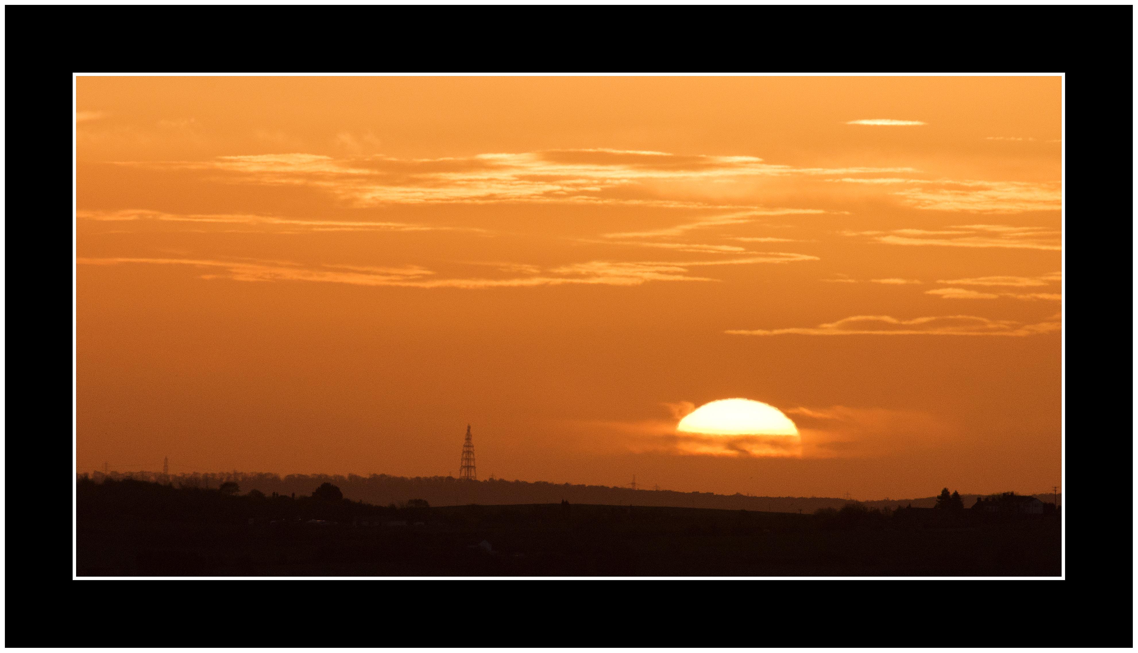 Images gratuites horizon zones humides nuage ciel soleil lever du soleil le coucher du - Heure lever coucher du soleil ...