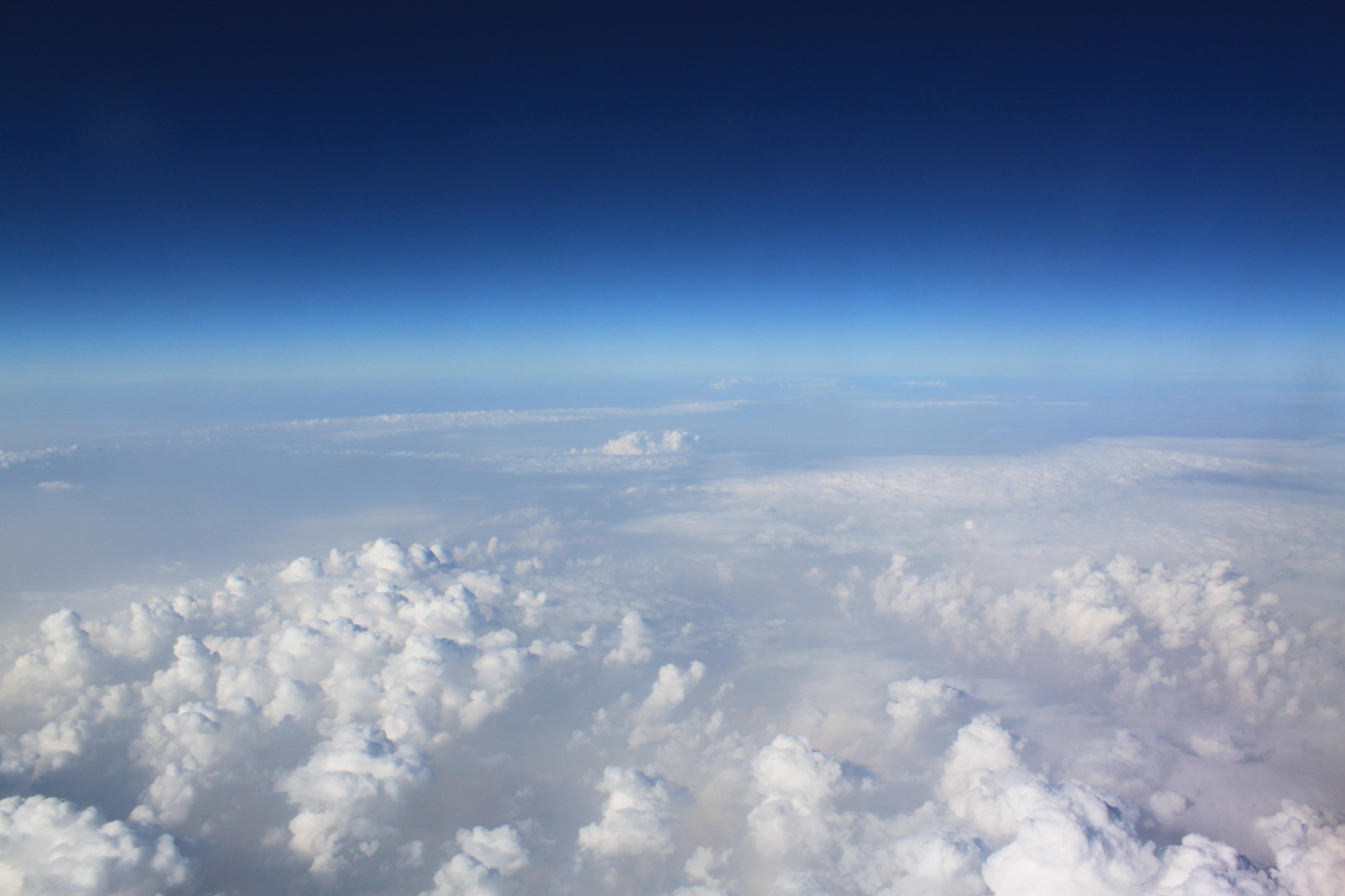Free Images : horizon, wing, cloud, sunlight, mountain ...
