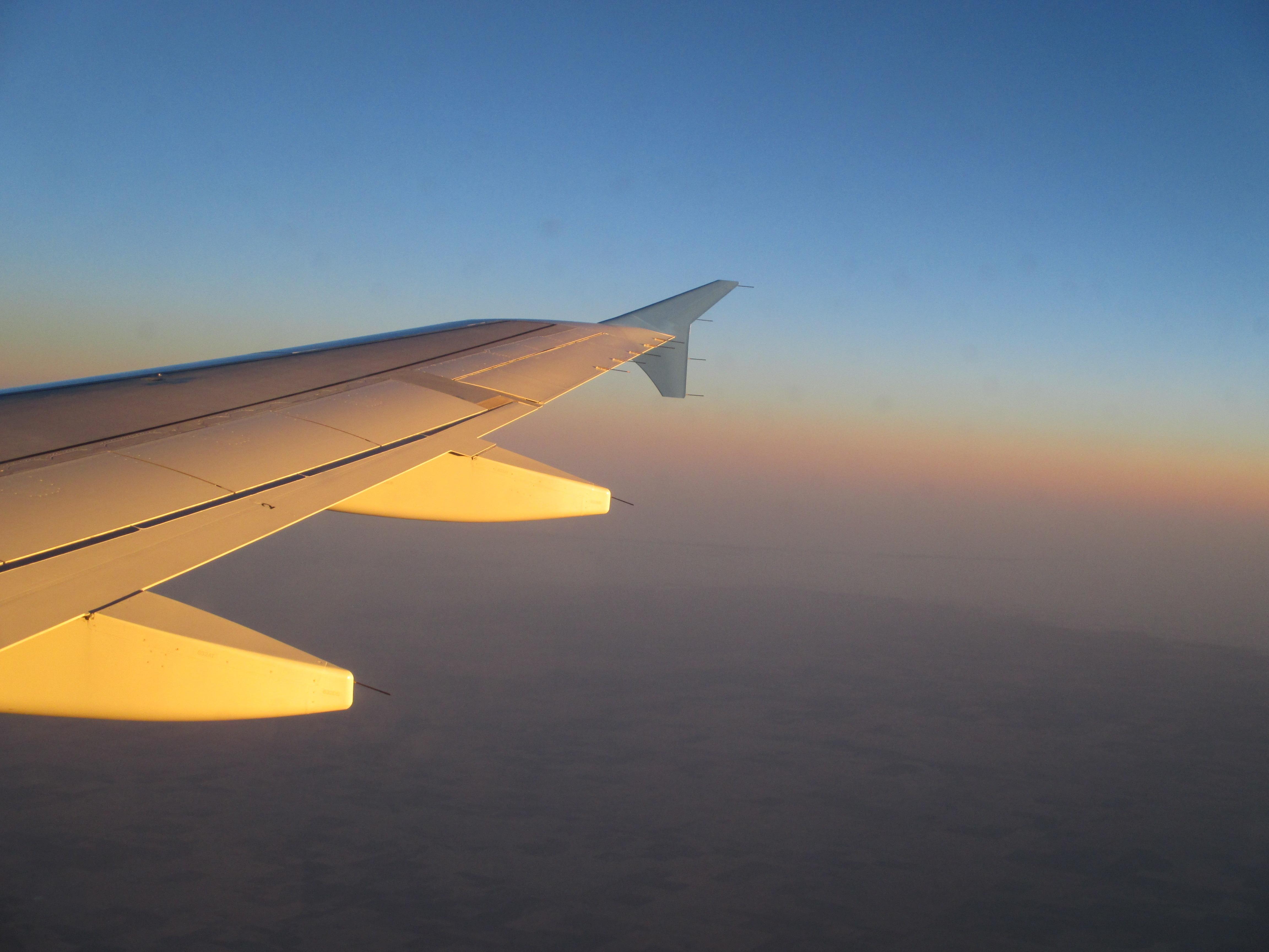 Geschwindigkeit der Fluggesellschaft