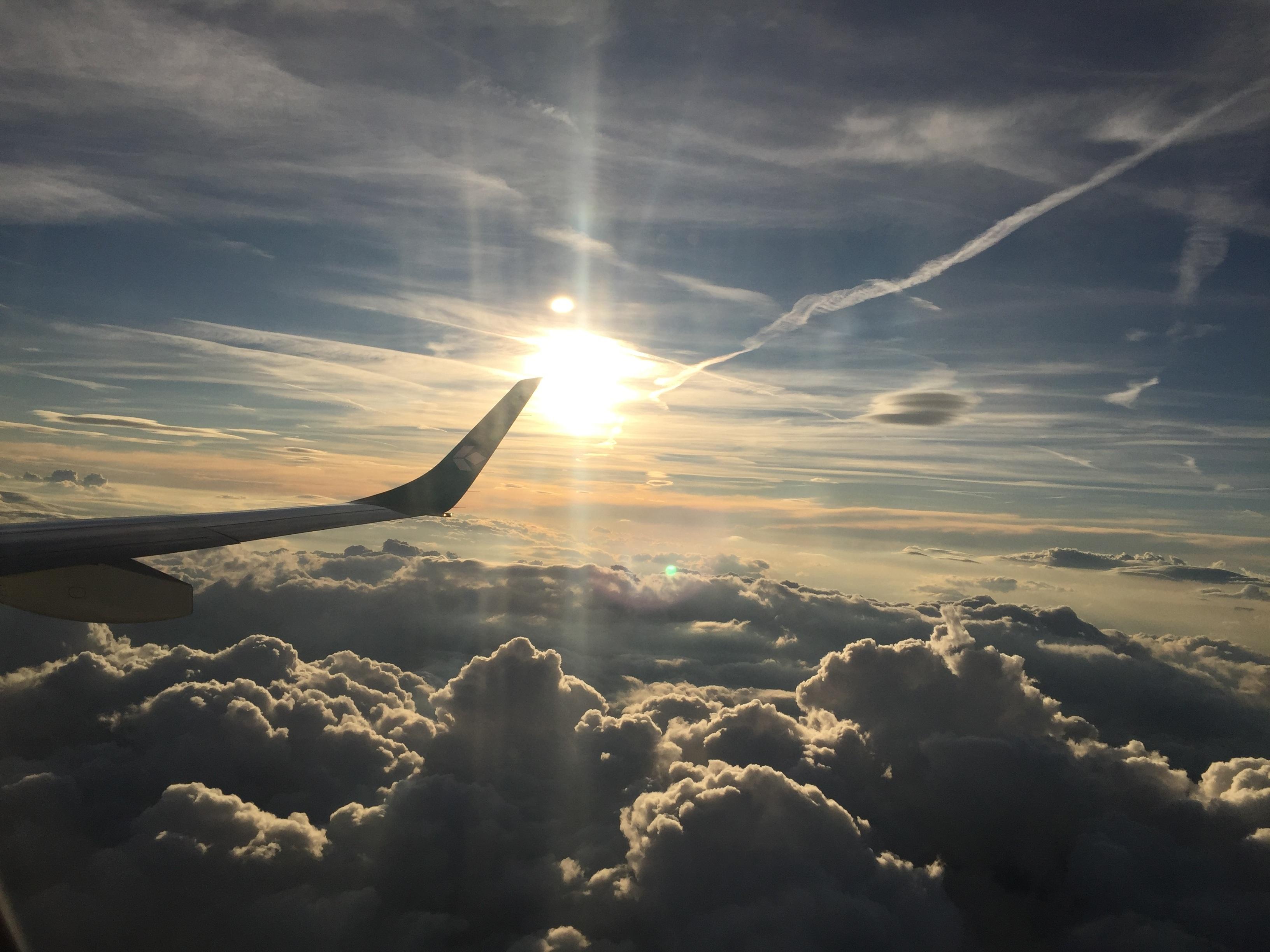 Free Images Horizon Wing Light Cloud Sky Sun
